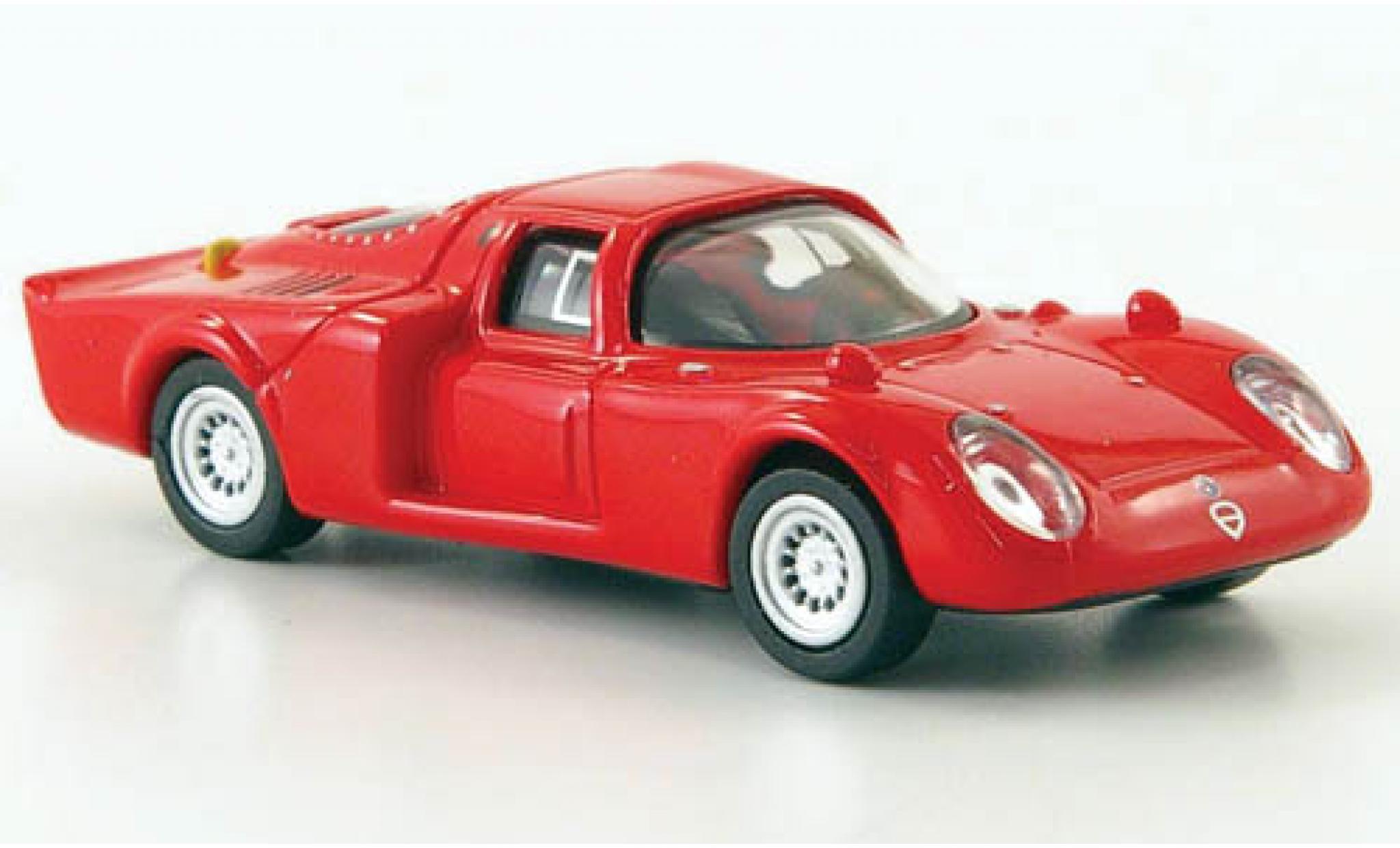 Alfa Romeo 33.2 1/87 Ricko Daytona rouge 1968