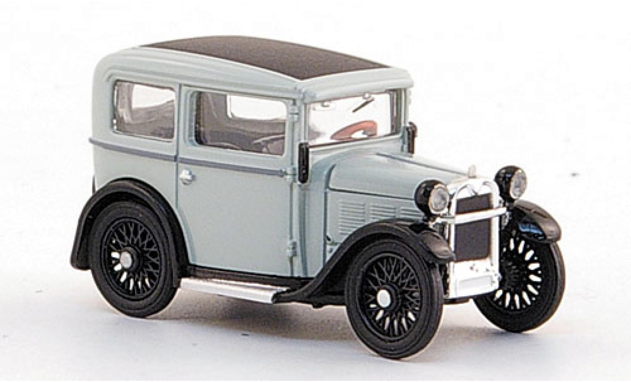 Bmw Dixi 1/87 Ricko grise/noire 1929 ohne Vitrine