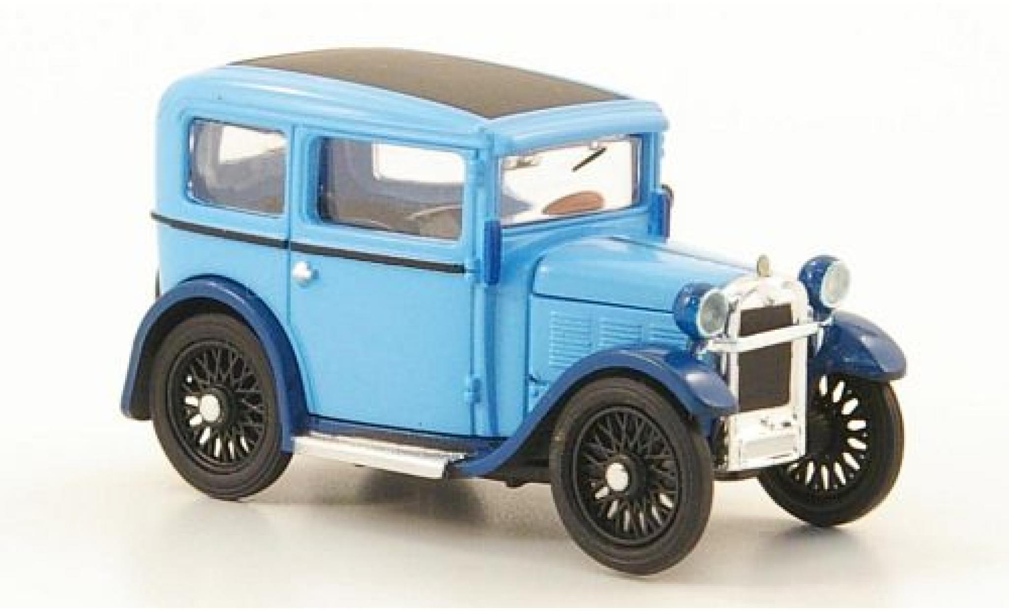 Bmw Dixi 1/87 Ricko bleue/bleue 1929