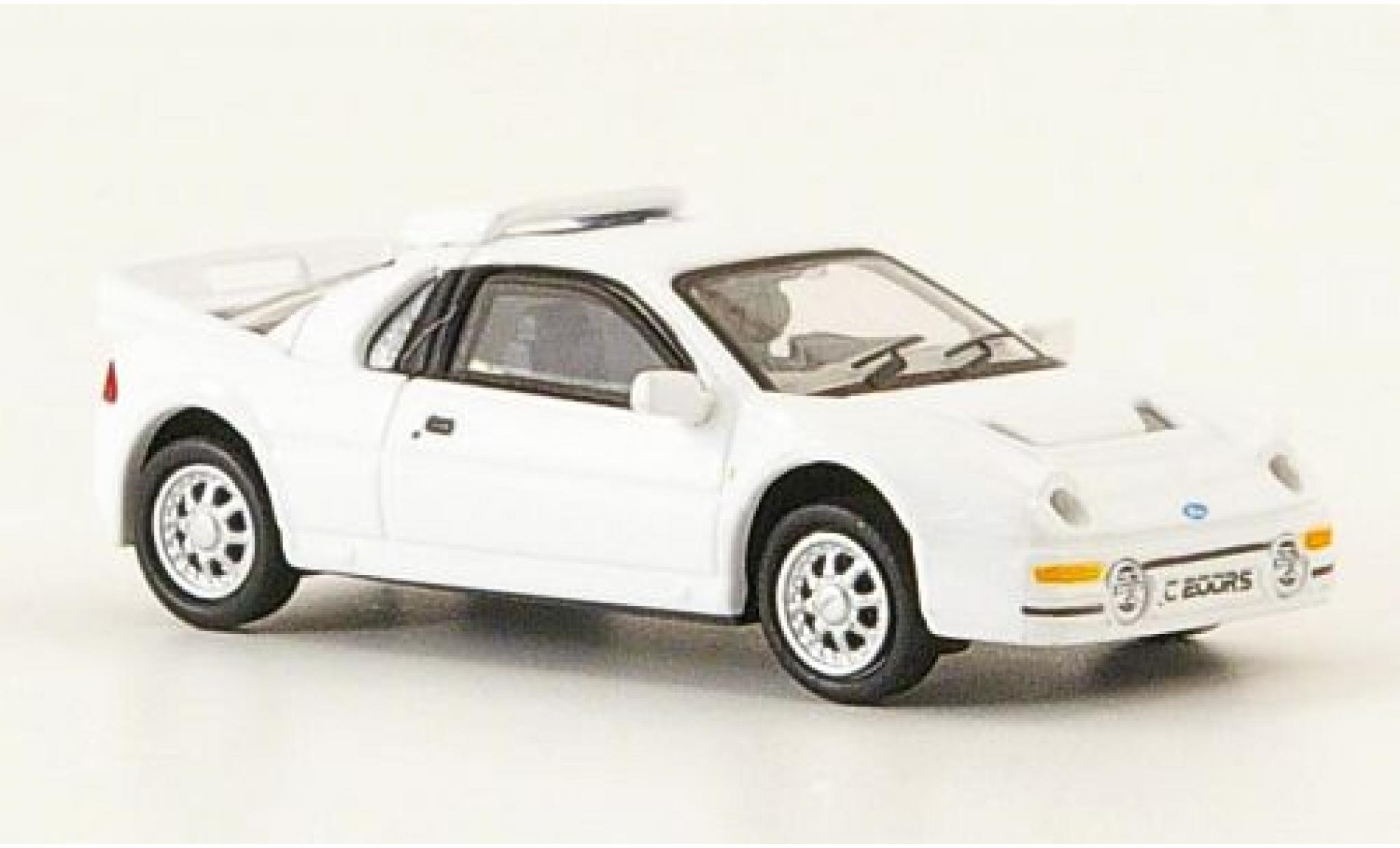 Ford RS 200 1/87 Ricko blanche 1986