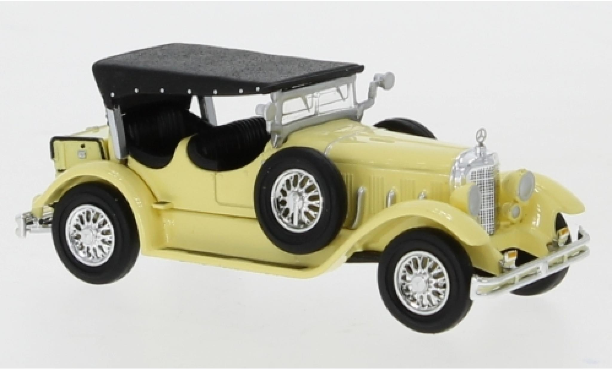 Mercedes Classe S 1/87 Ricko 630K jaune 1927 Verdeck fermé