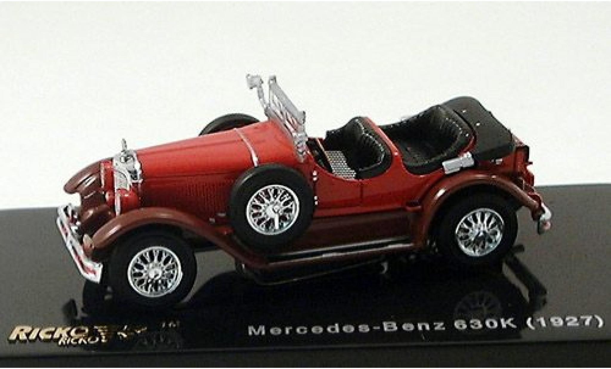 Mercedes Classe S 1/87 Ricko 630K rouge 1927