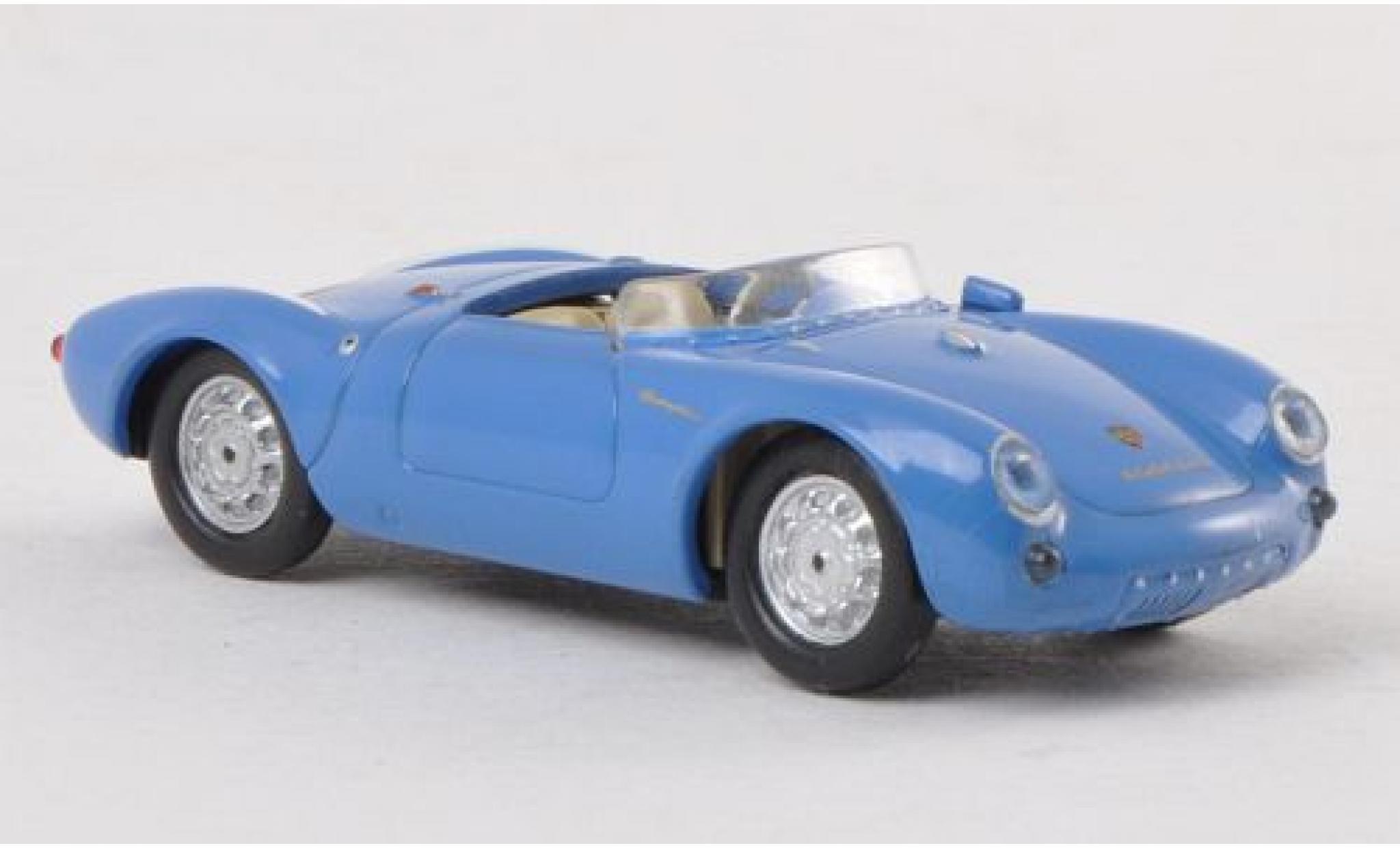 Porsche 550 1/87 Ricko Spyder bleue 1953