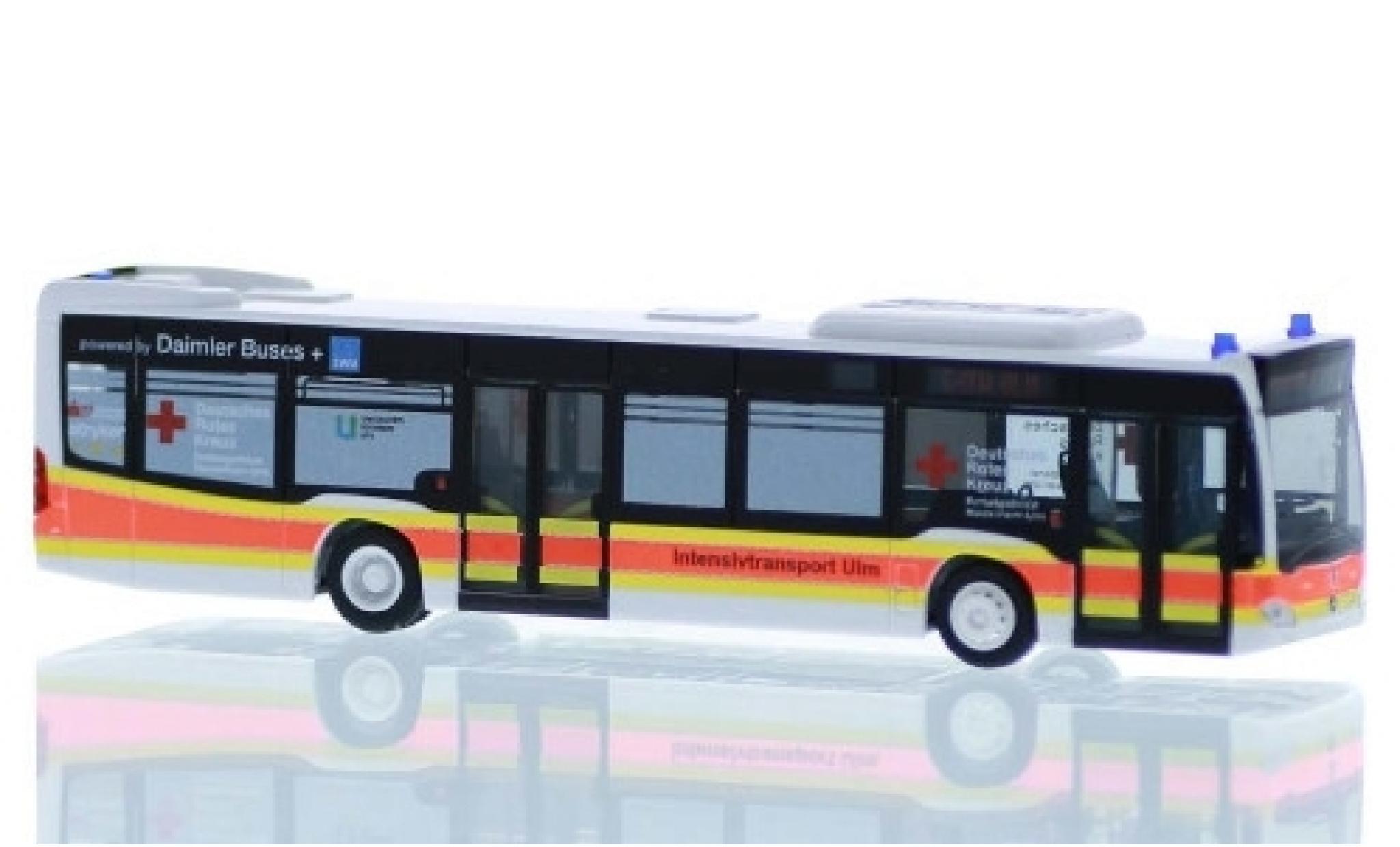 Mercedes Citaro 1/87 Rietze DRK Ulm - Intensivtransport 2015