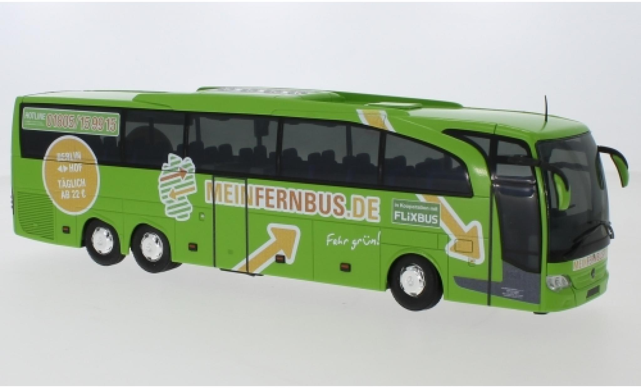 Mercedes Travego 1/43 Rietze M Meinfernbus - Eichberger Reisen