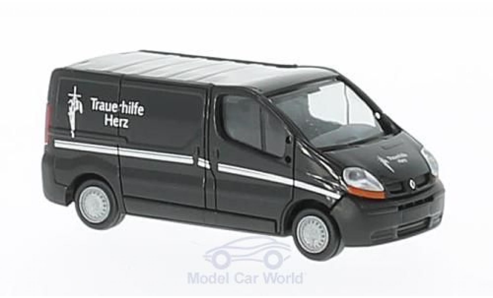 Renault Trafic 1/87 Rietze Trauerhilfe Herz - Filmwagen ohne Vitrine