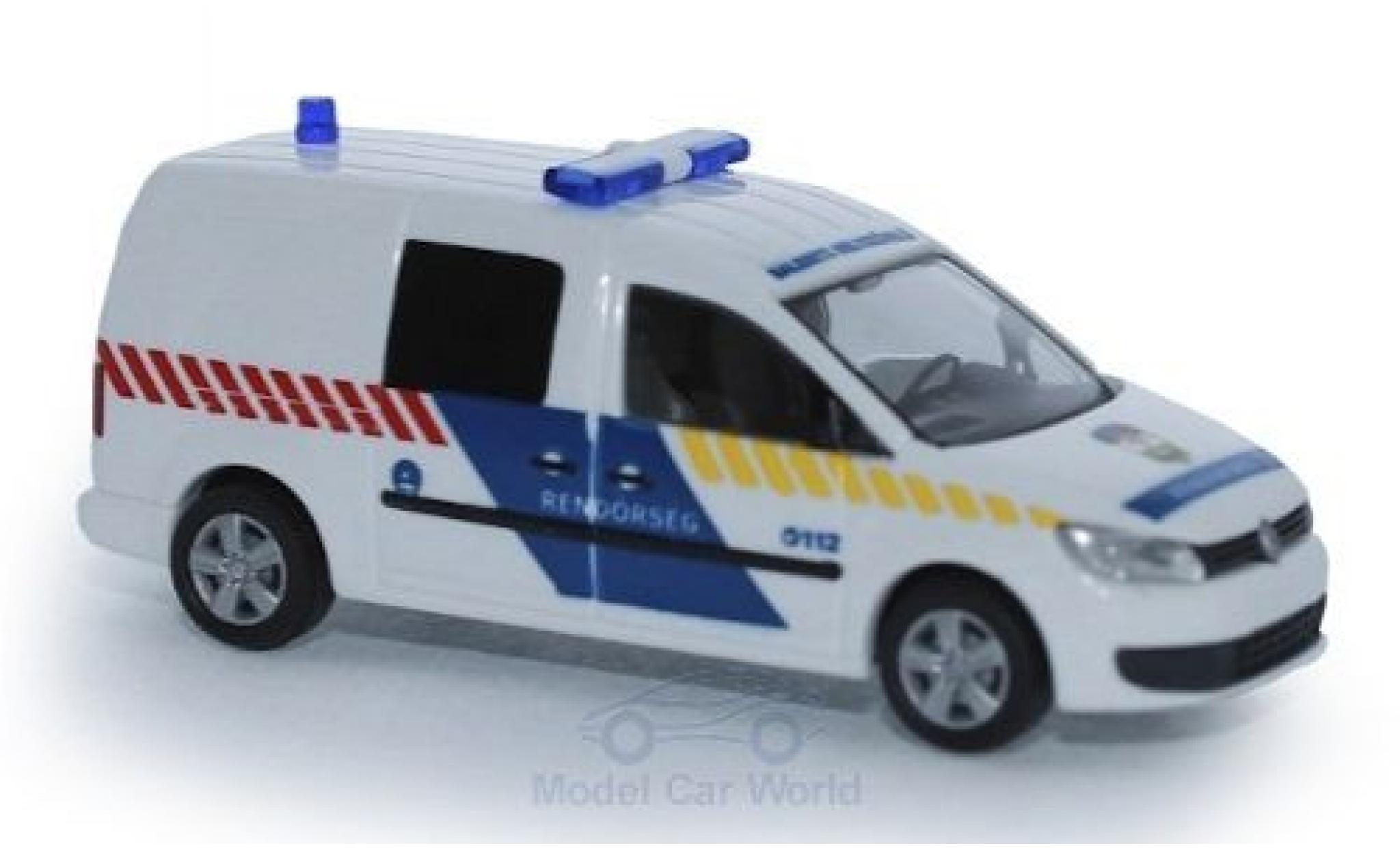Volkswagen Caddy 1/87 Rietze Maxi Rendörseg 2011