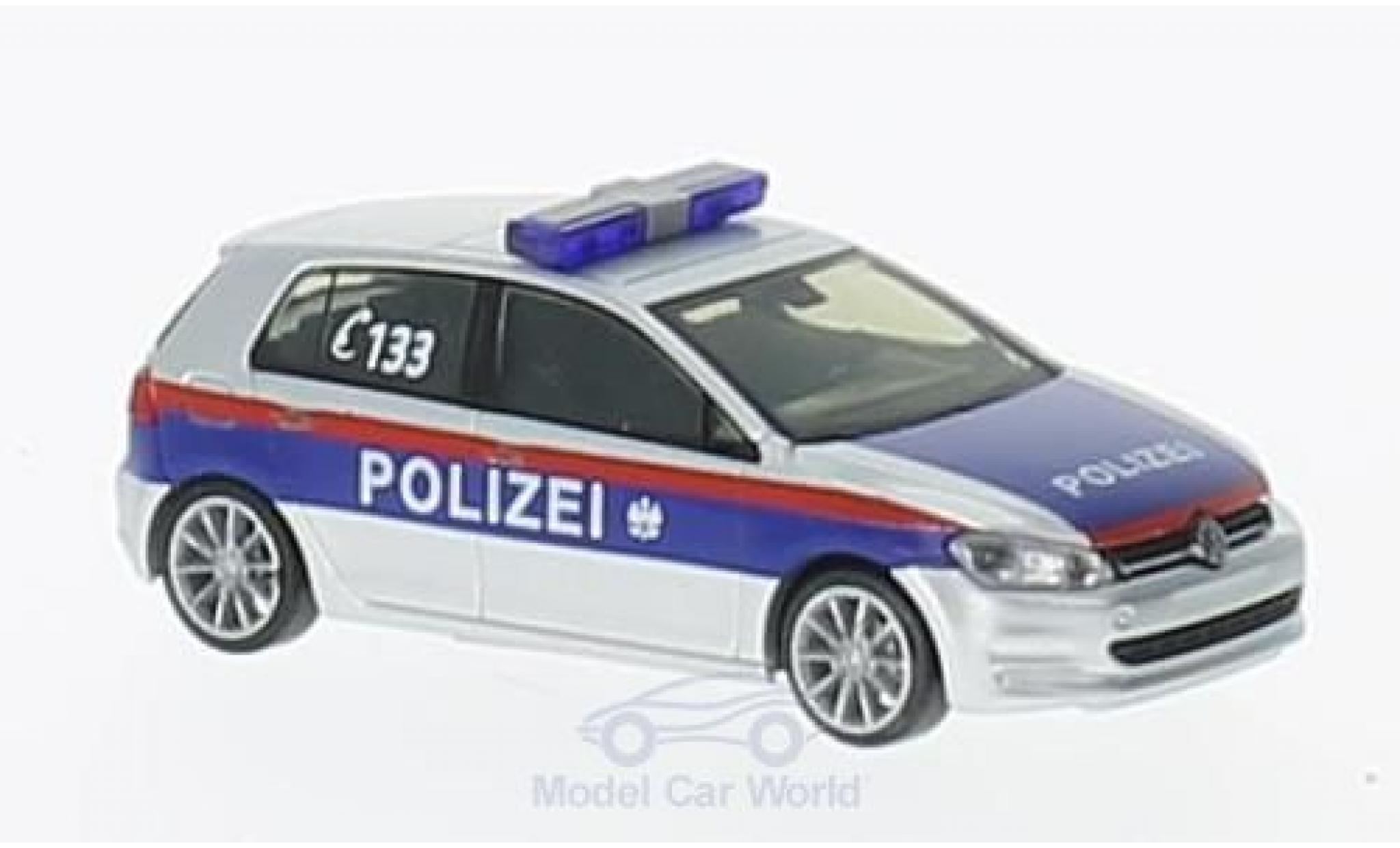 Volkswagen Golf VII 1/87 Rietze VII Polizei Österreich (A)