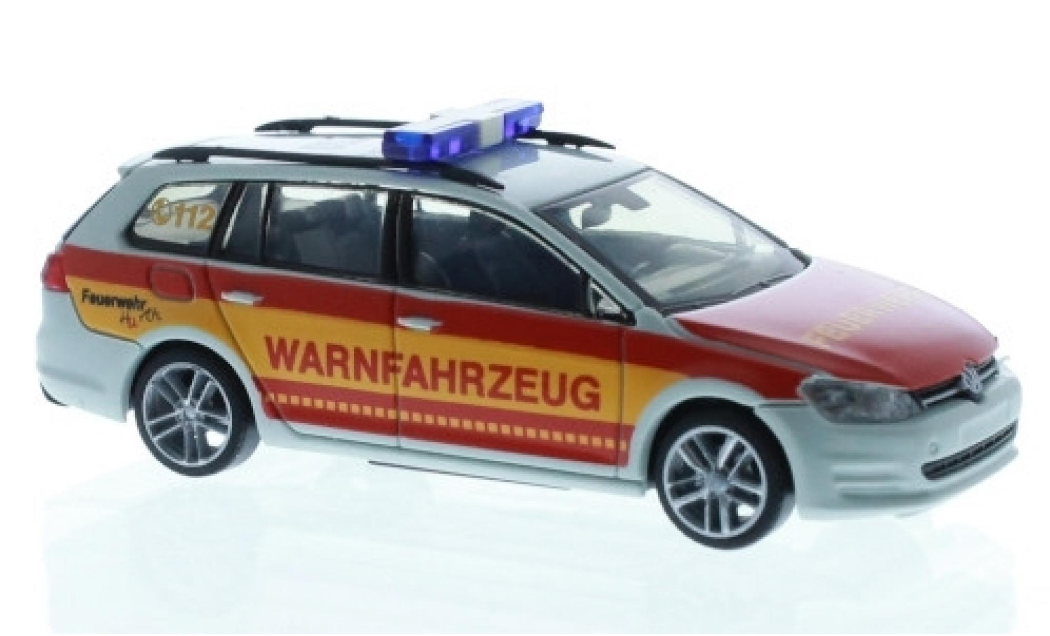 Volkswagen Golf 1/87 Rietze VII Variant Feuerwehr Hürth Warnfahrzeug