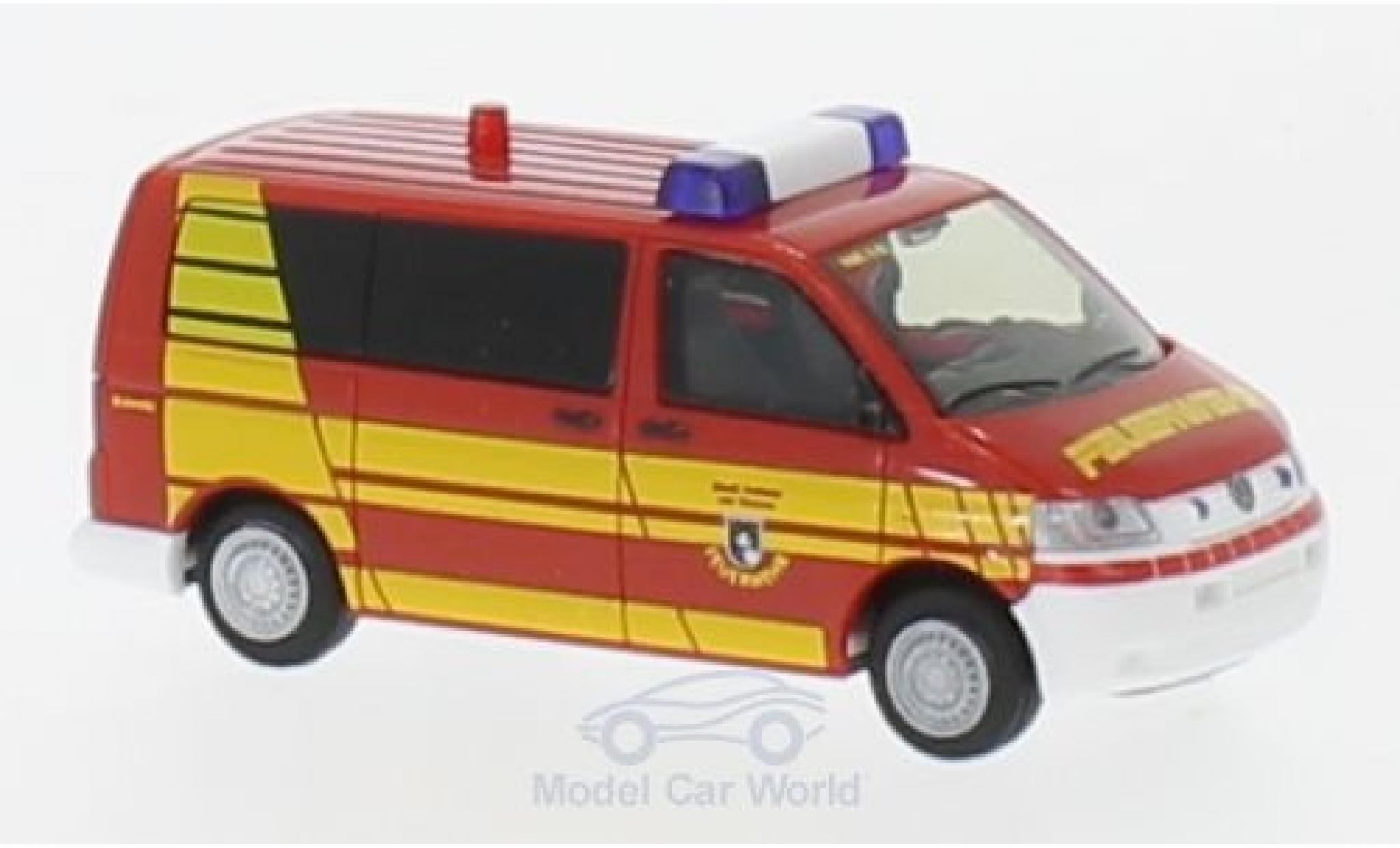 Volkswagen T5 1/87 Rietze Bus Feuerwehr Hofheim im Taunus 2003
