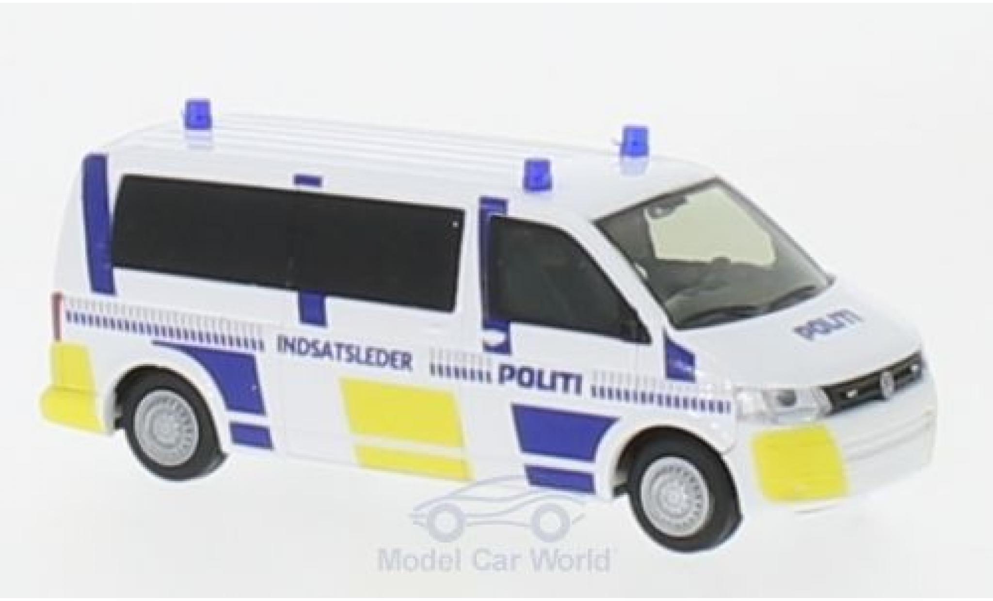 Volkswagen T5 1/87 Rietze Bus Politi 2010