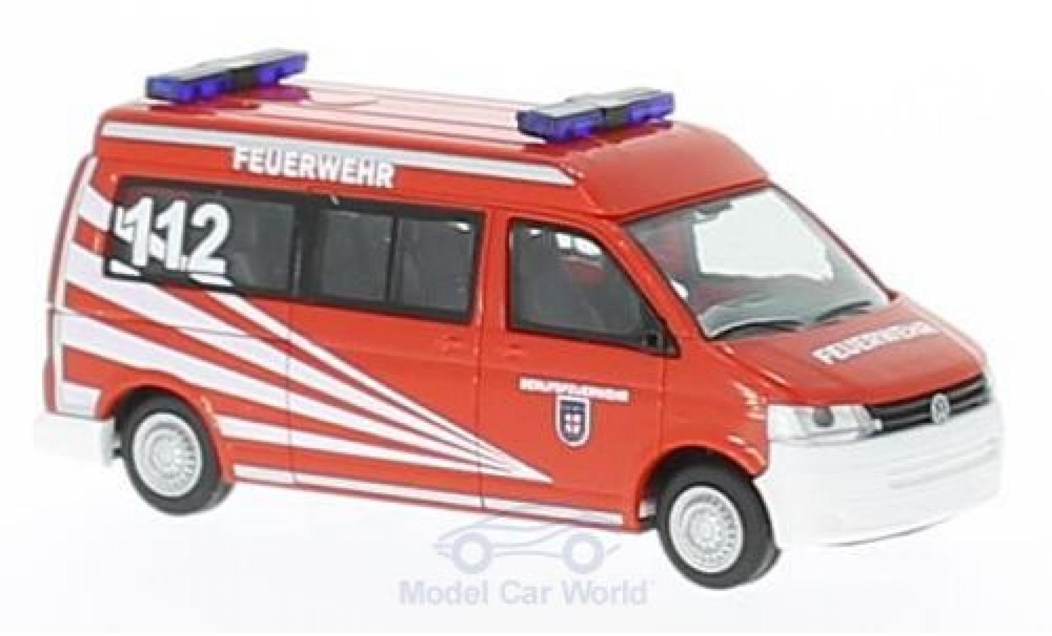 Volkswagen T5 1/87 Rietze Feuerwehr Koblenz 2010