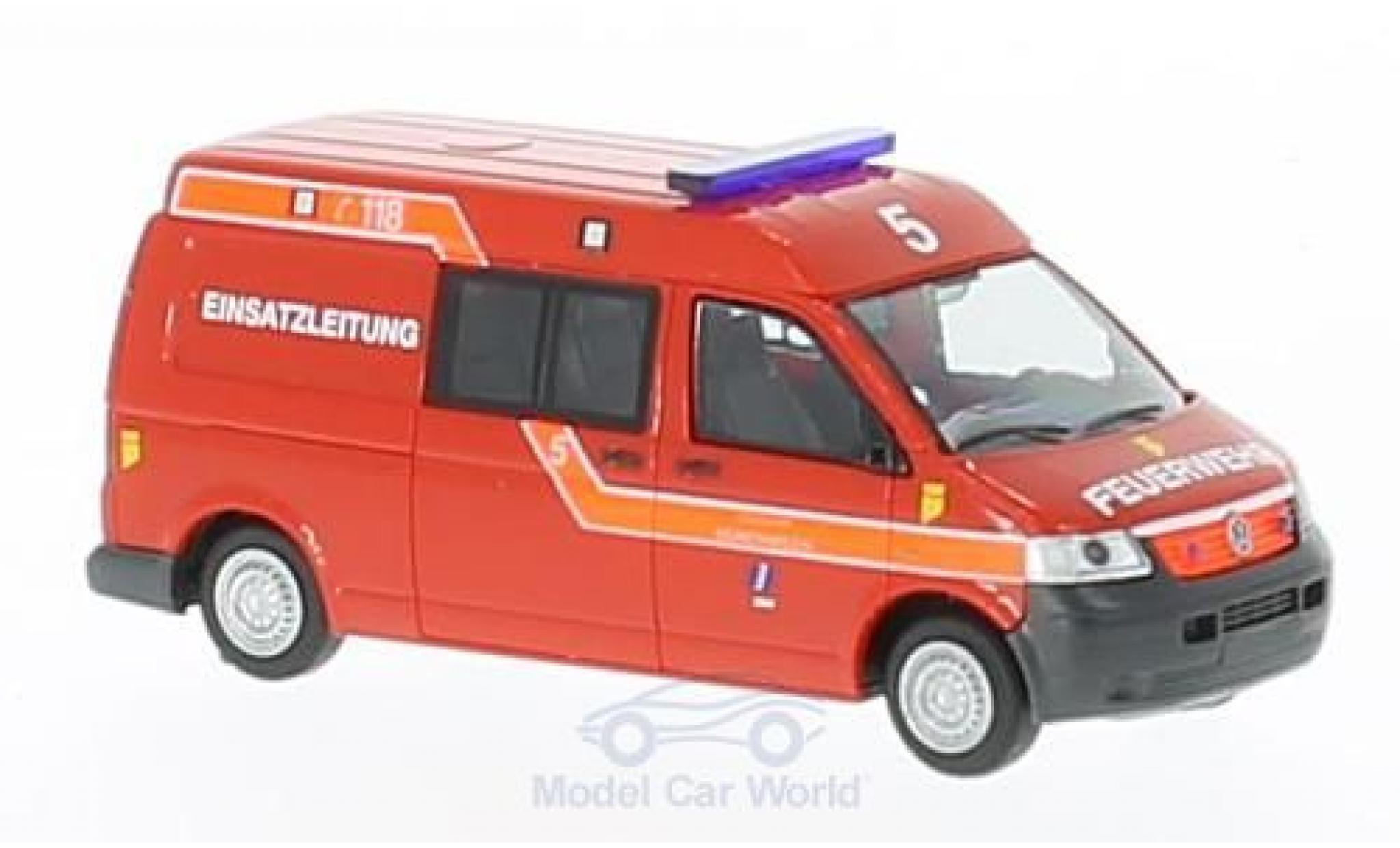 Volkswagen T5 1/87 Rietze Feuerwehr Münchwilen