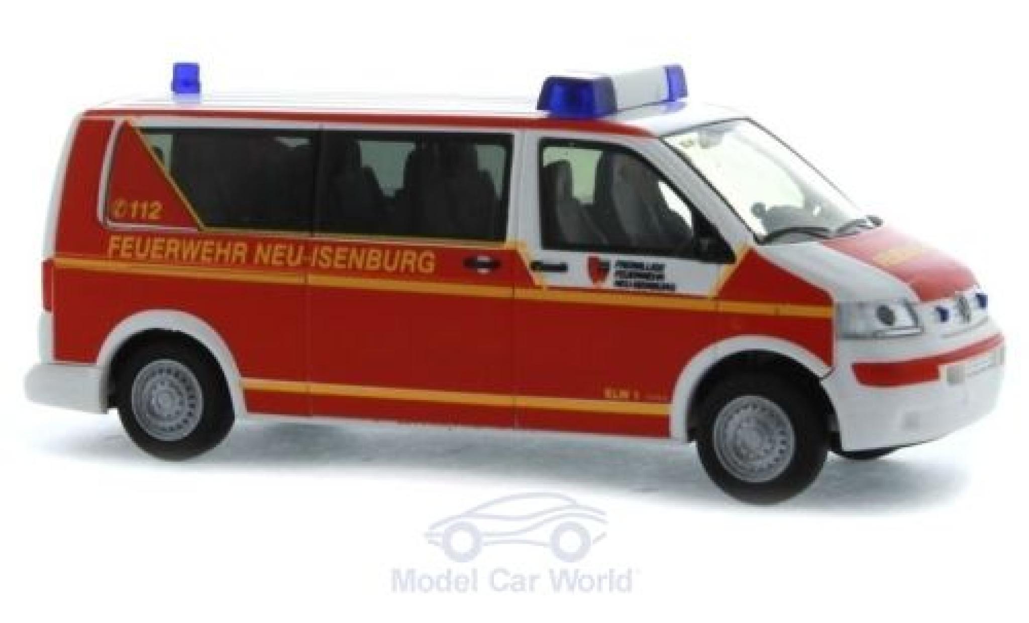 Volkswagen T5 1/87 Rietze Feuerwehr Neu-Isenburg 2003