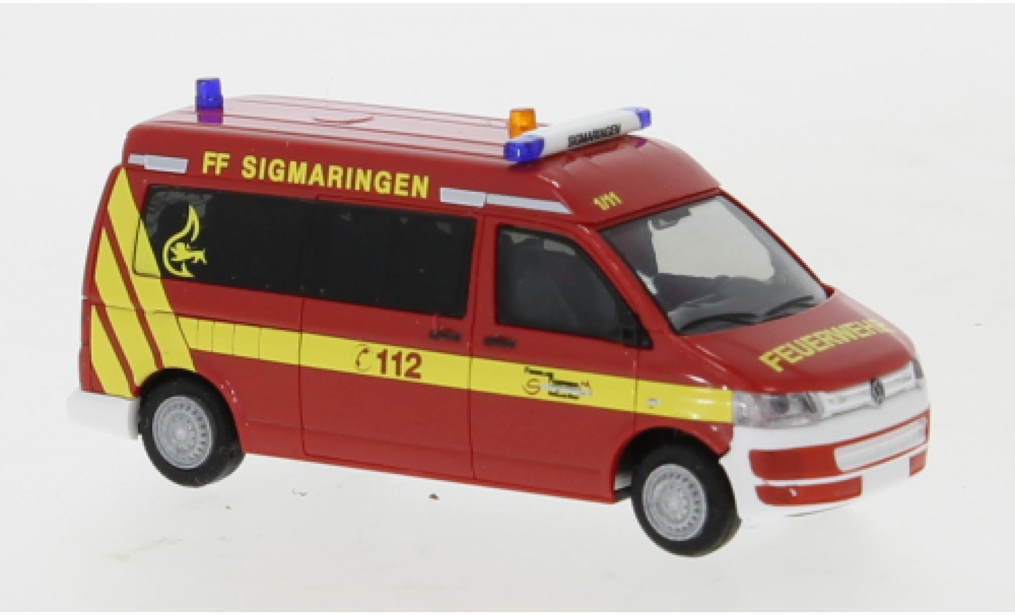 Volkswagen T5 1/87 Rietze Feuerwehr Sigmaringen 2010