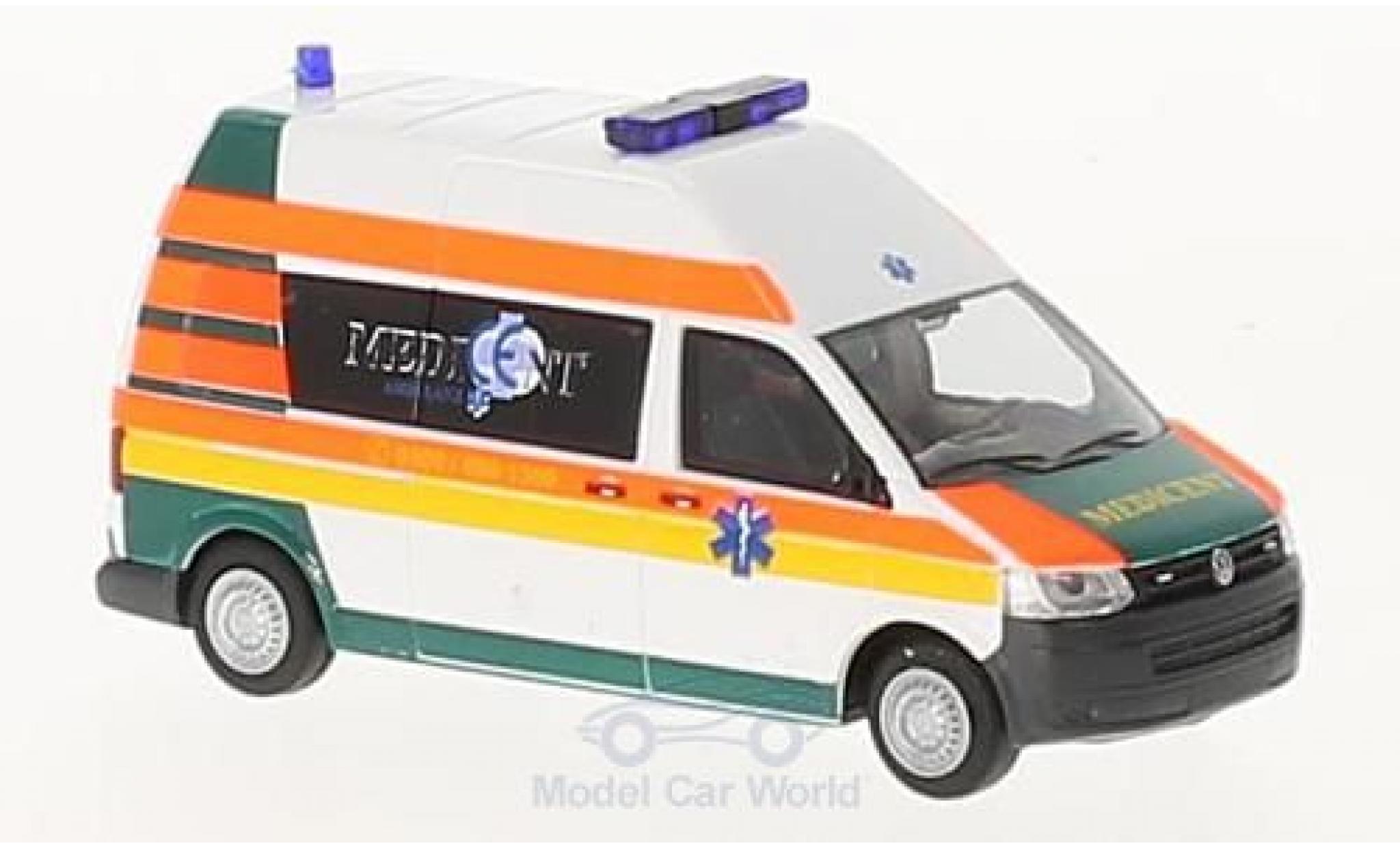 Volkswagen T5 1/87 Rietze GP Medicent Rettung Rotenburg