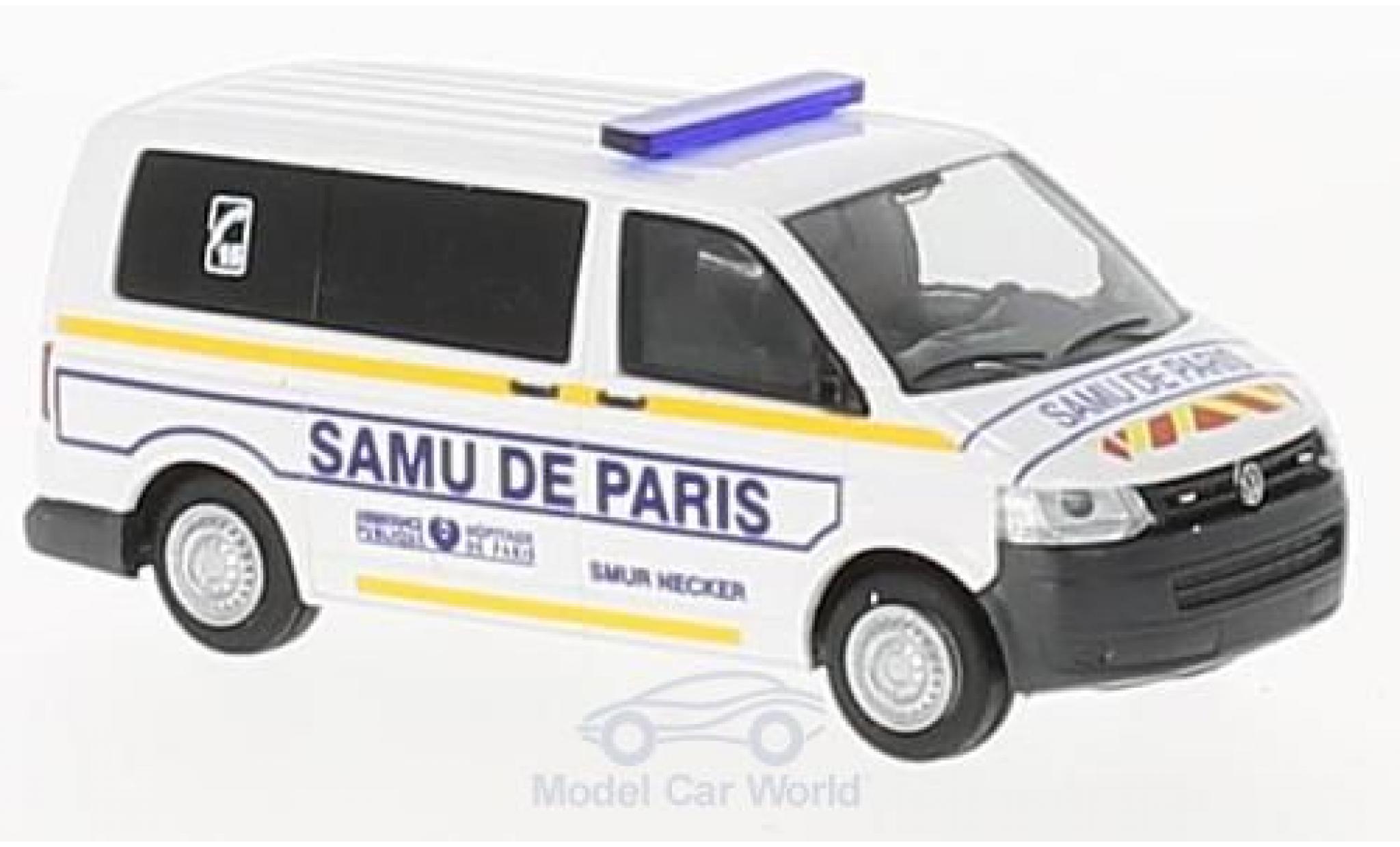 Volkswagen T5 1/87 Rietze GP Samu de Paris (FR)