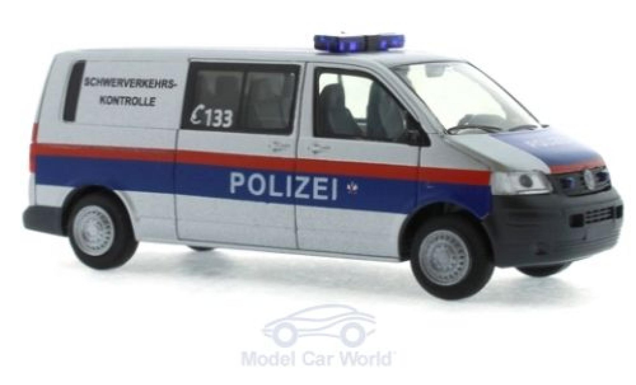 Volkswagen T5 1/87 Rietze Halbbus Polizei - Schwerverkehrskontrolle (AT) 2003