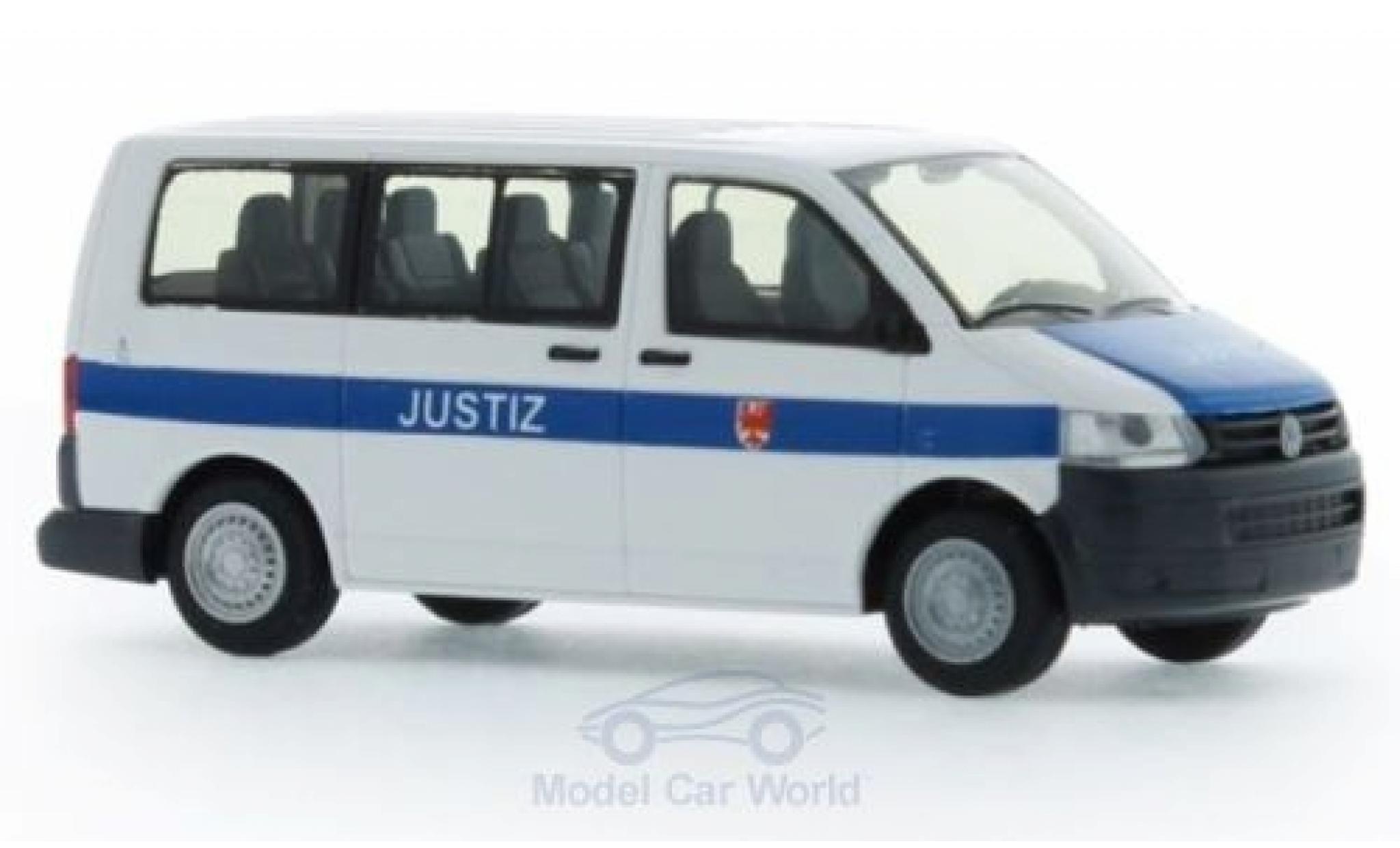 Volkswagen T5 1/87 Rietze Justiz Brandenburg 2010