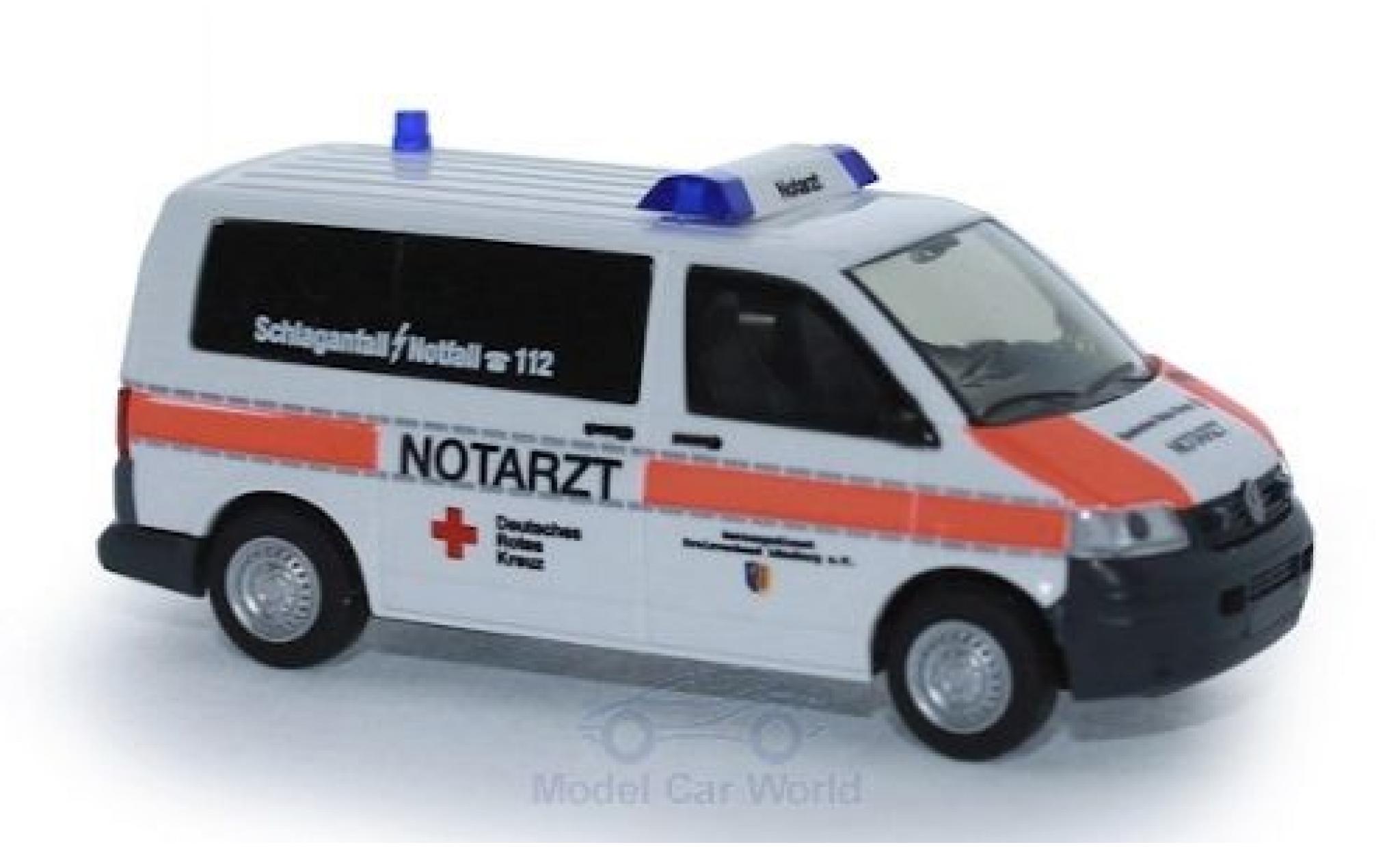 Volkswagen T5 1/87 Rietze Notarzt DRK Lüneburg 2003
