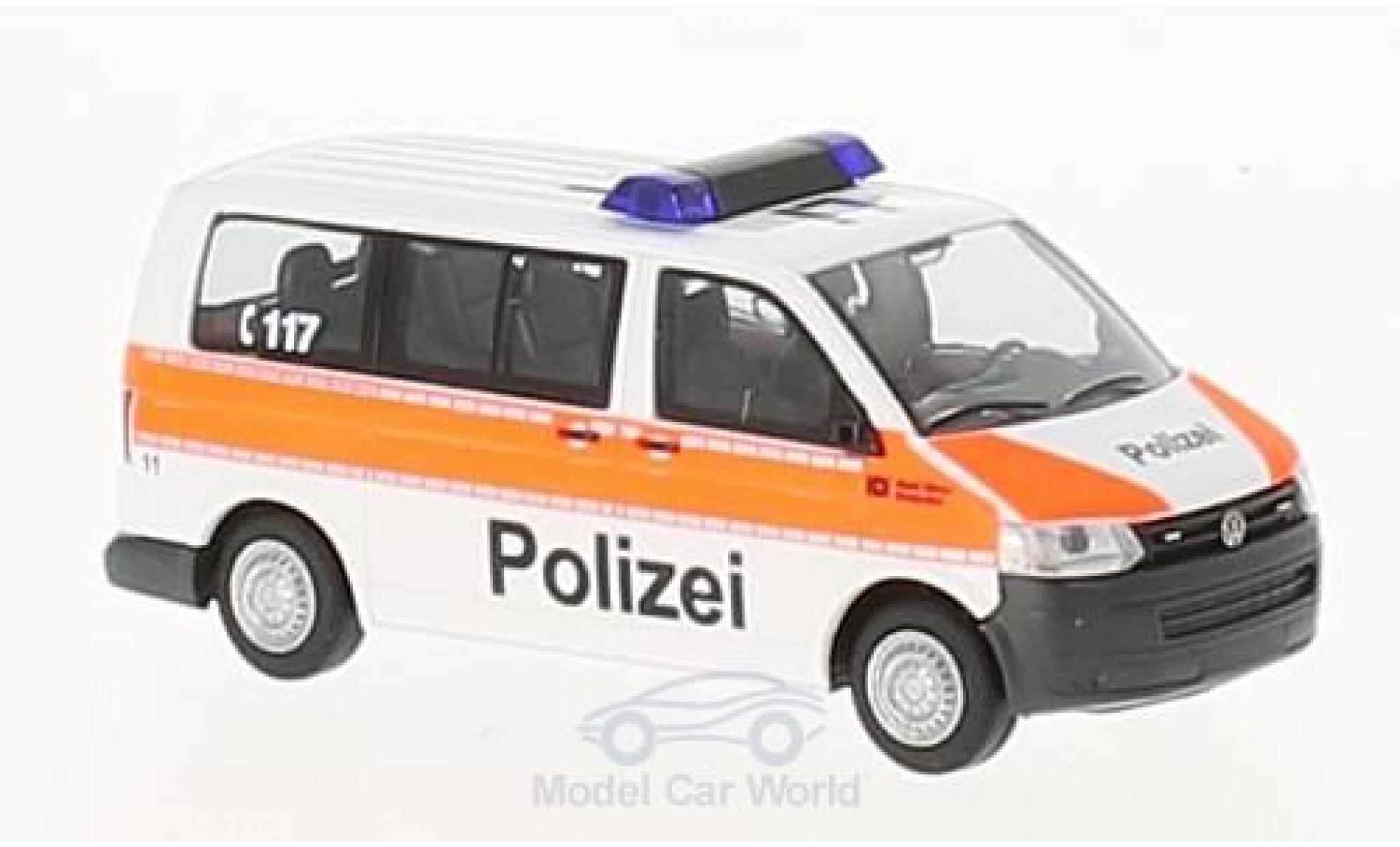Volkswagen T5 1/87 Rietze Stadtpolizei Zürich 2010