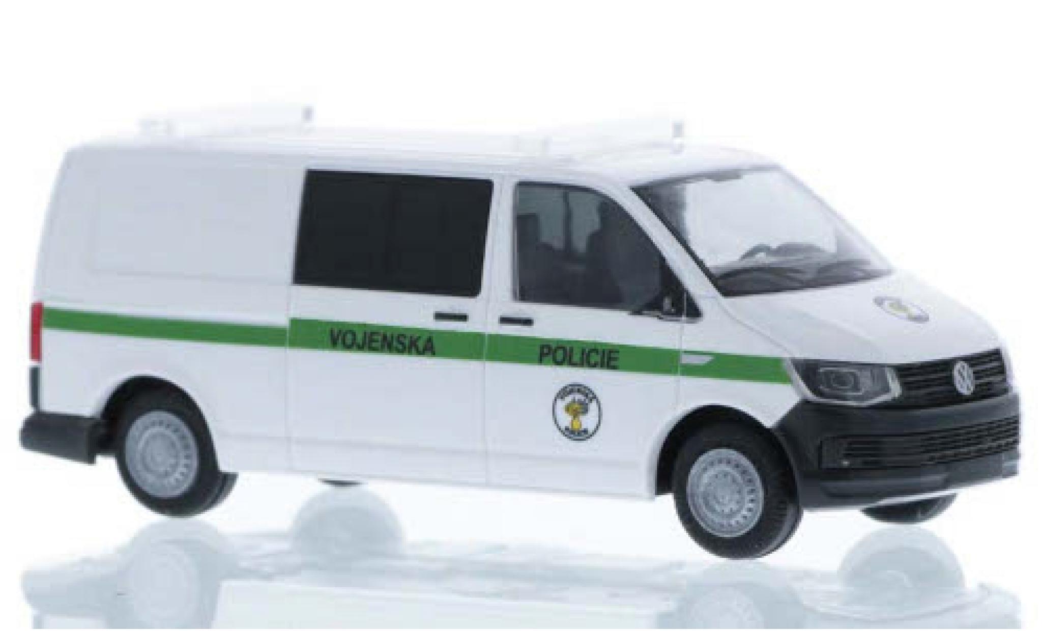 Volkswagen T6 1/87 Rietze Vojenska Policie (CZ) plus long empattement
