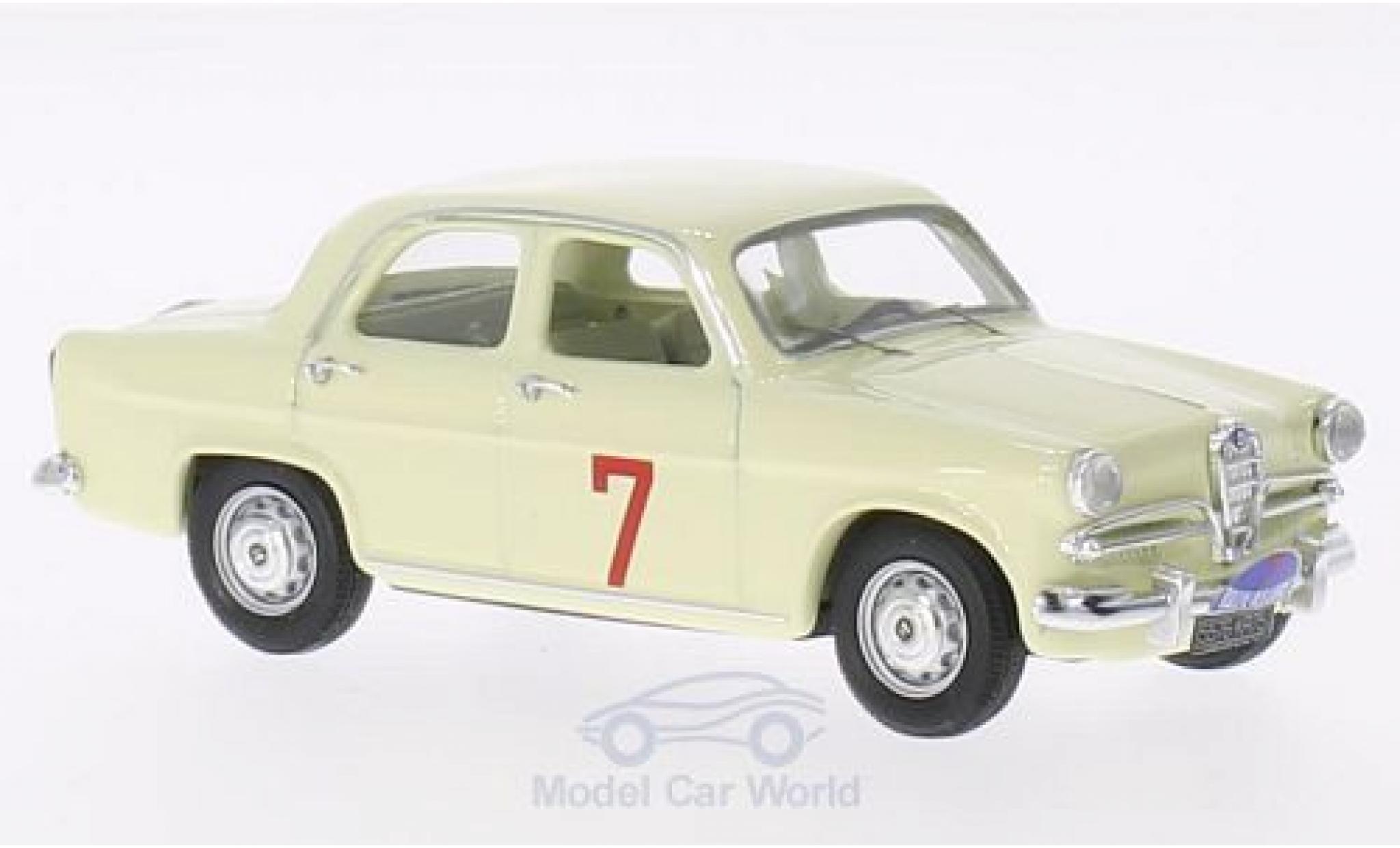 Alfa Romeo Giulietta 1/43 Rio T.I. No.7 Rally des Lions 1961