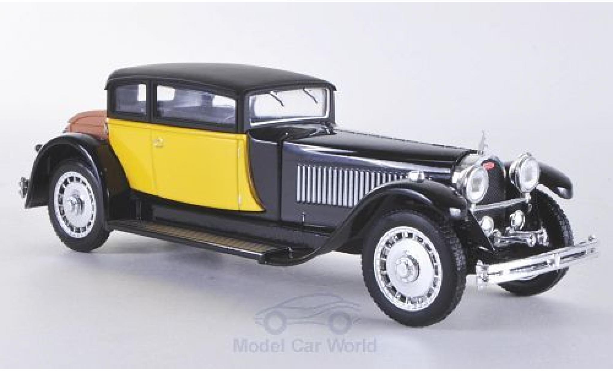 Bugatti 41 1/43 Rio Royale amarillo/negro 1929 Weymann