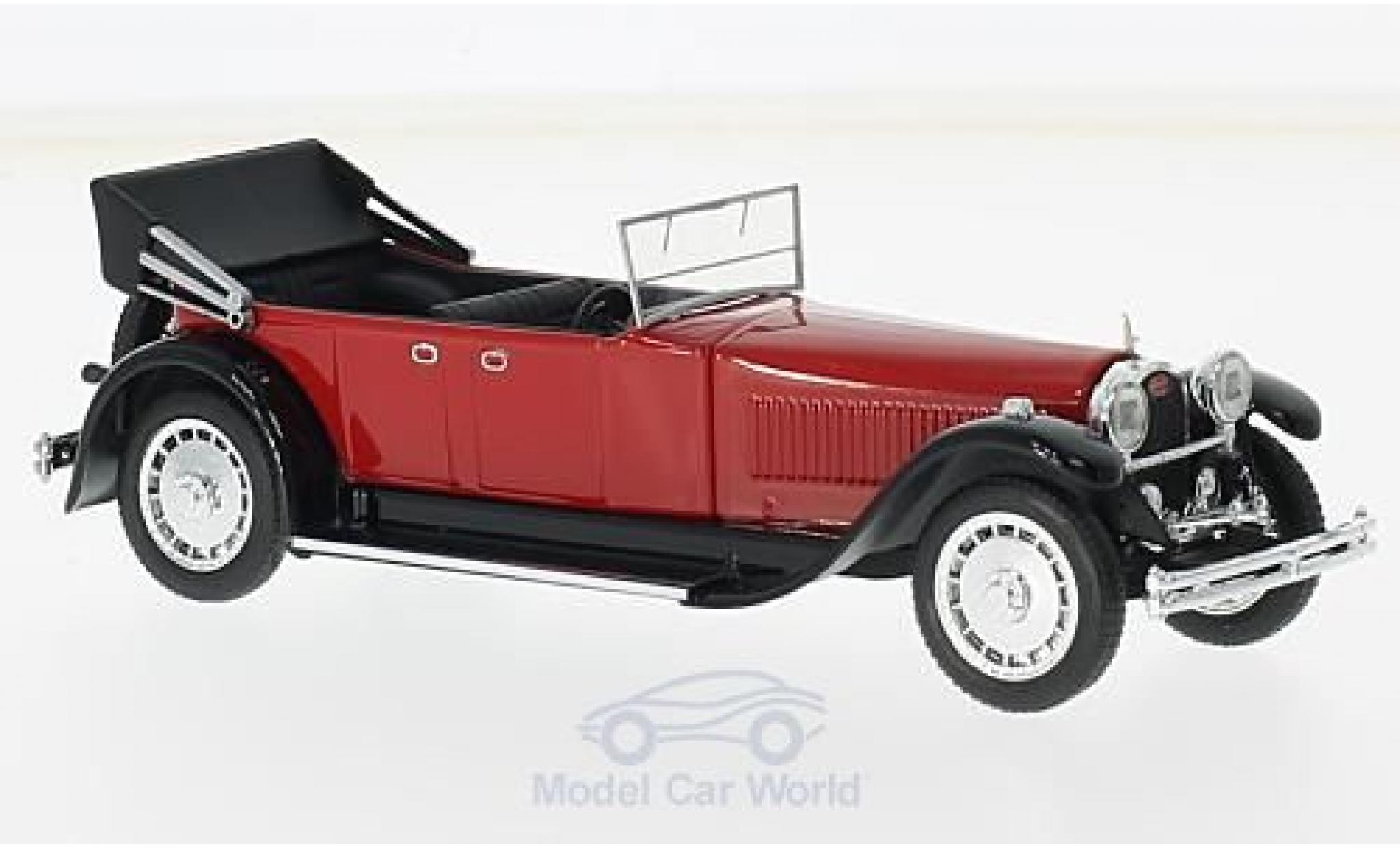 Bugatti 41 1/43 Rio Royale Torpedo rouge/noire RHD 1927