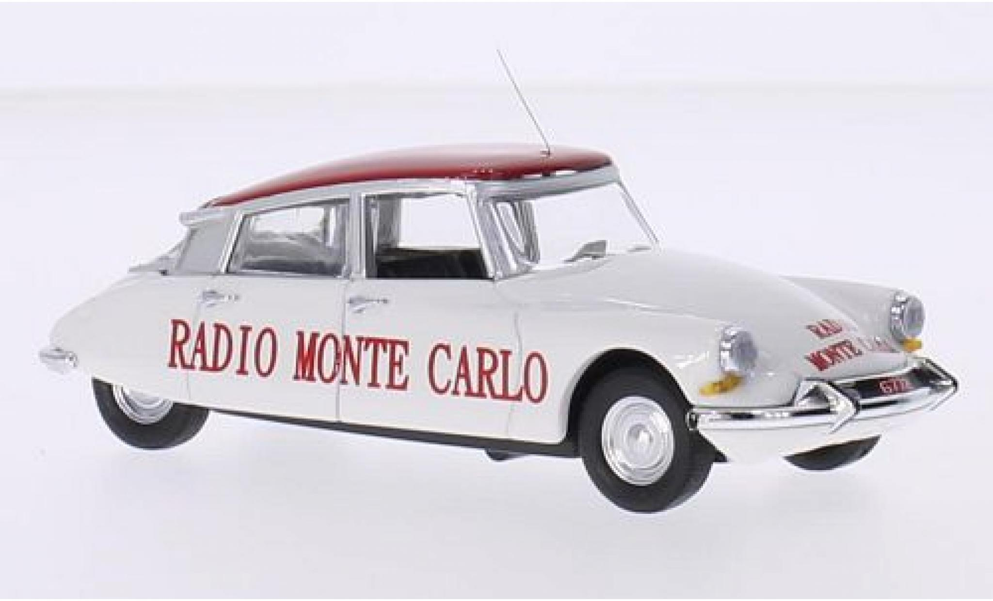 Citroen DS 1/43 Rio 19 Radio Monte Carlo Tour de France 1962
