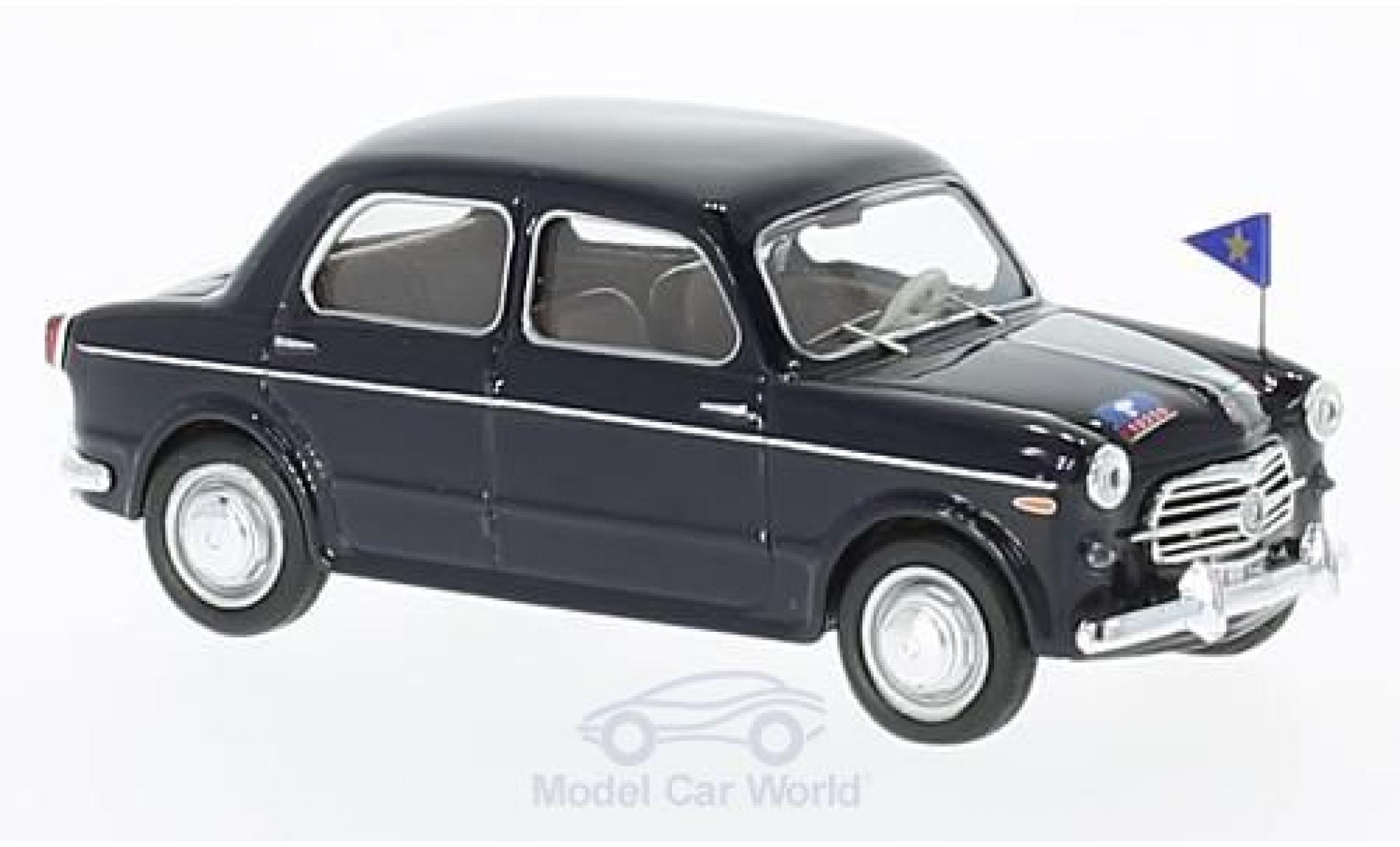 Fiat 1100 1/43 Rio /103 E negro Carabinieri Serv. Ufficiali 1953