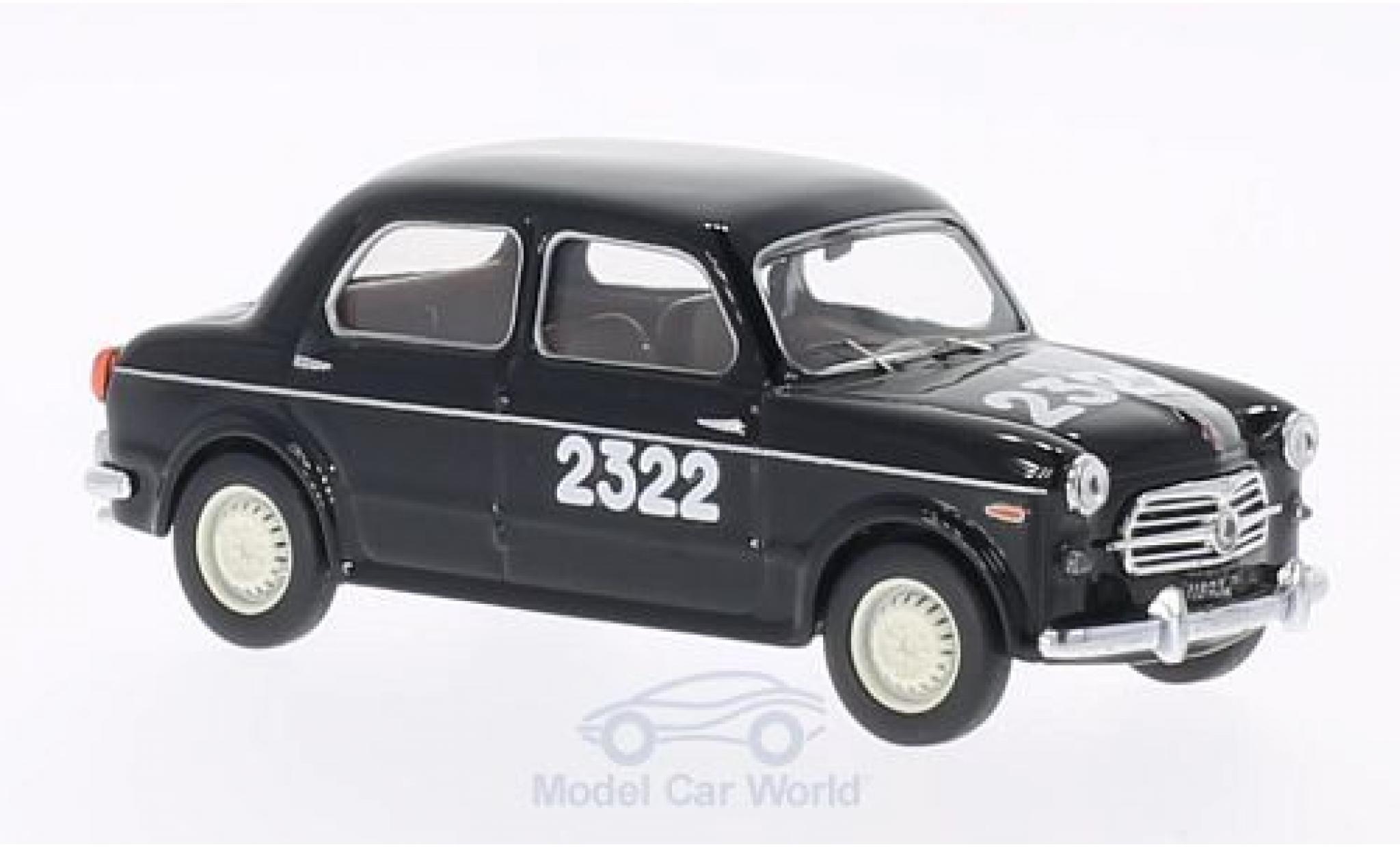 Fiat 1100 1955 1/43 Rio /103 No.2322 Mille Miglia 1955 P.Tagliani/F.de Angelis