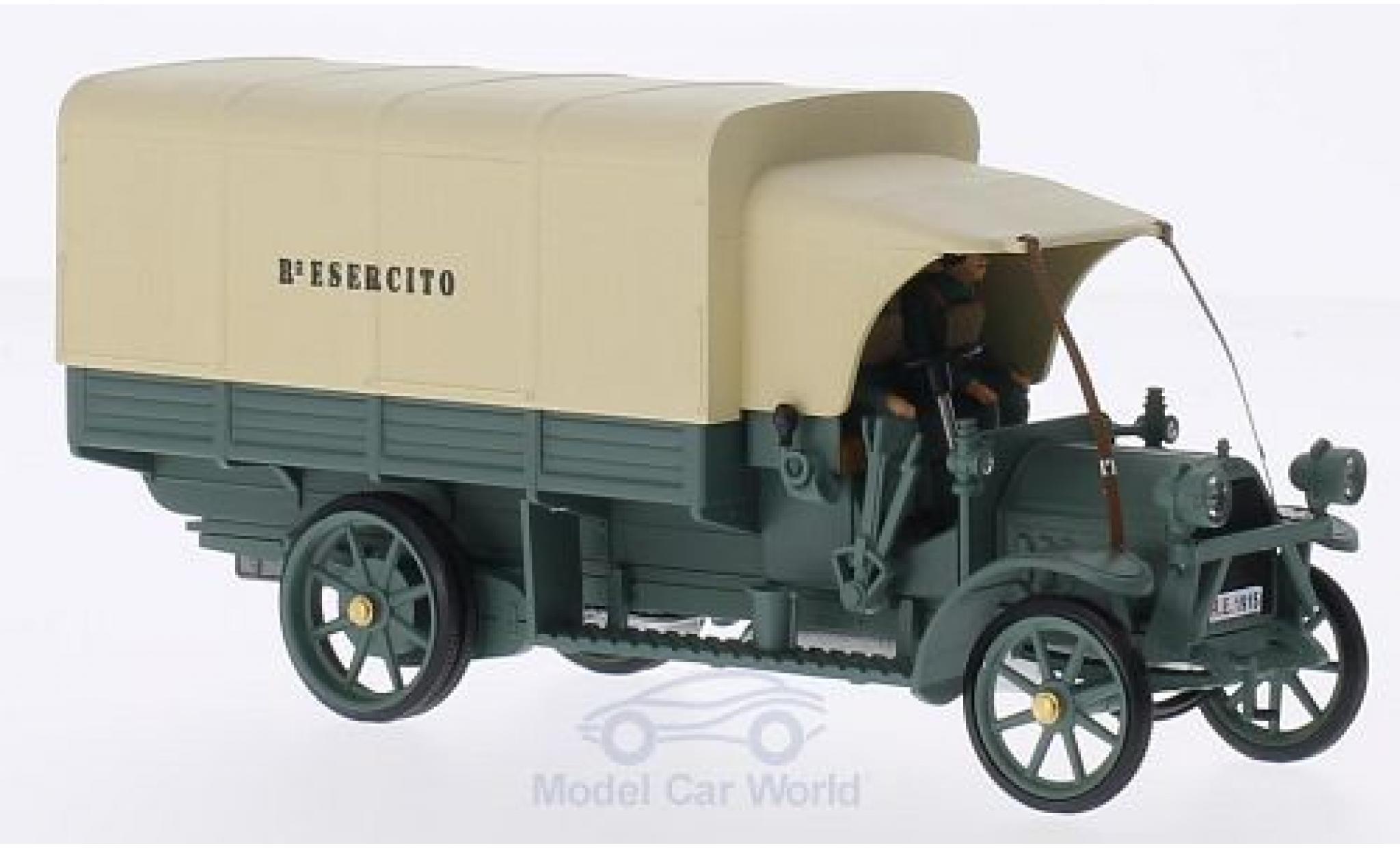 Fiat 18 1/43 Rio BL RHD Militär (IT) 1915 Esercito mit 2 Figuren