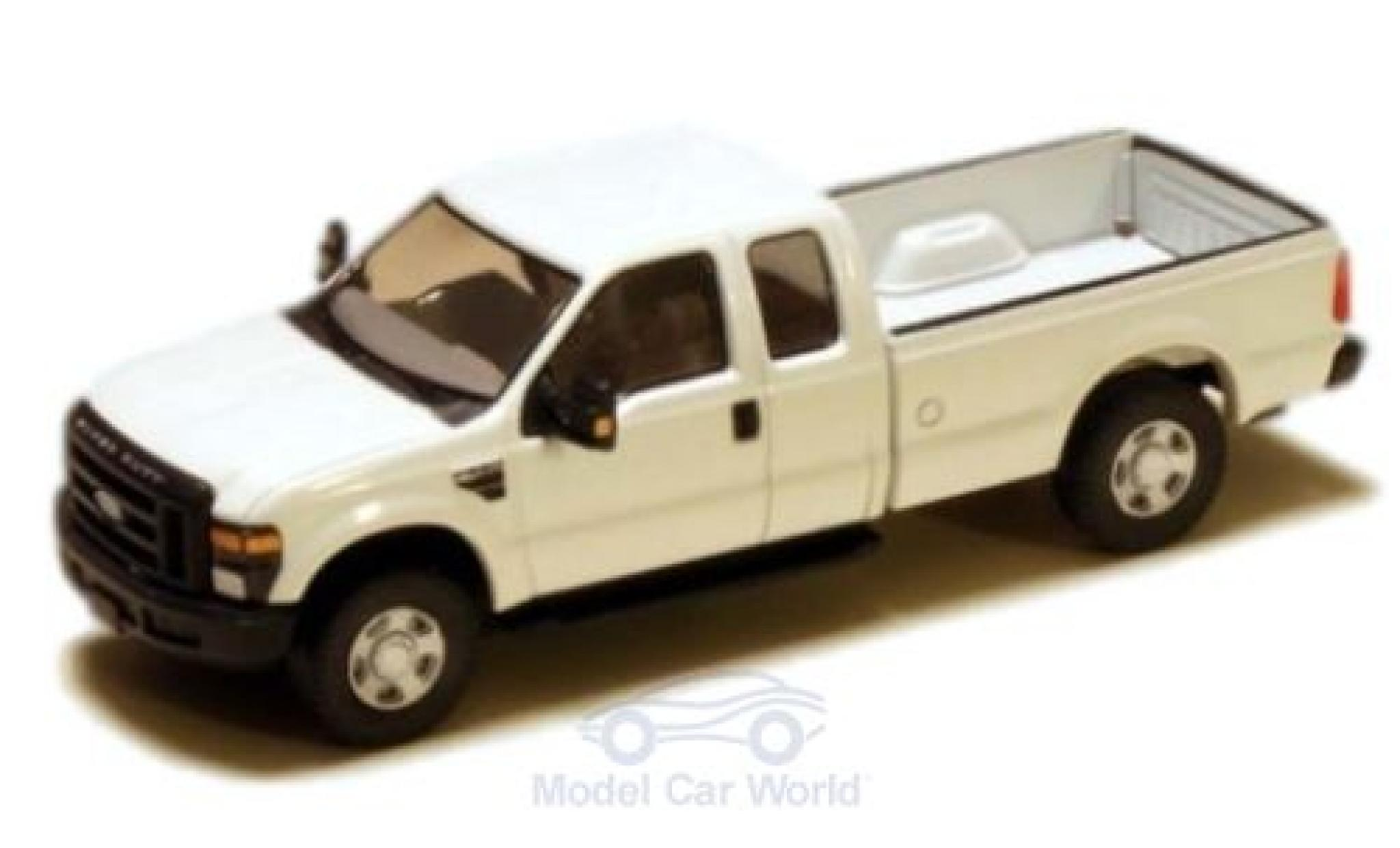 Ford F-250 1/87 River Point XLT Super Cab blanche 2008