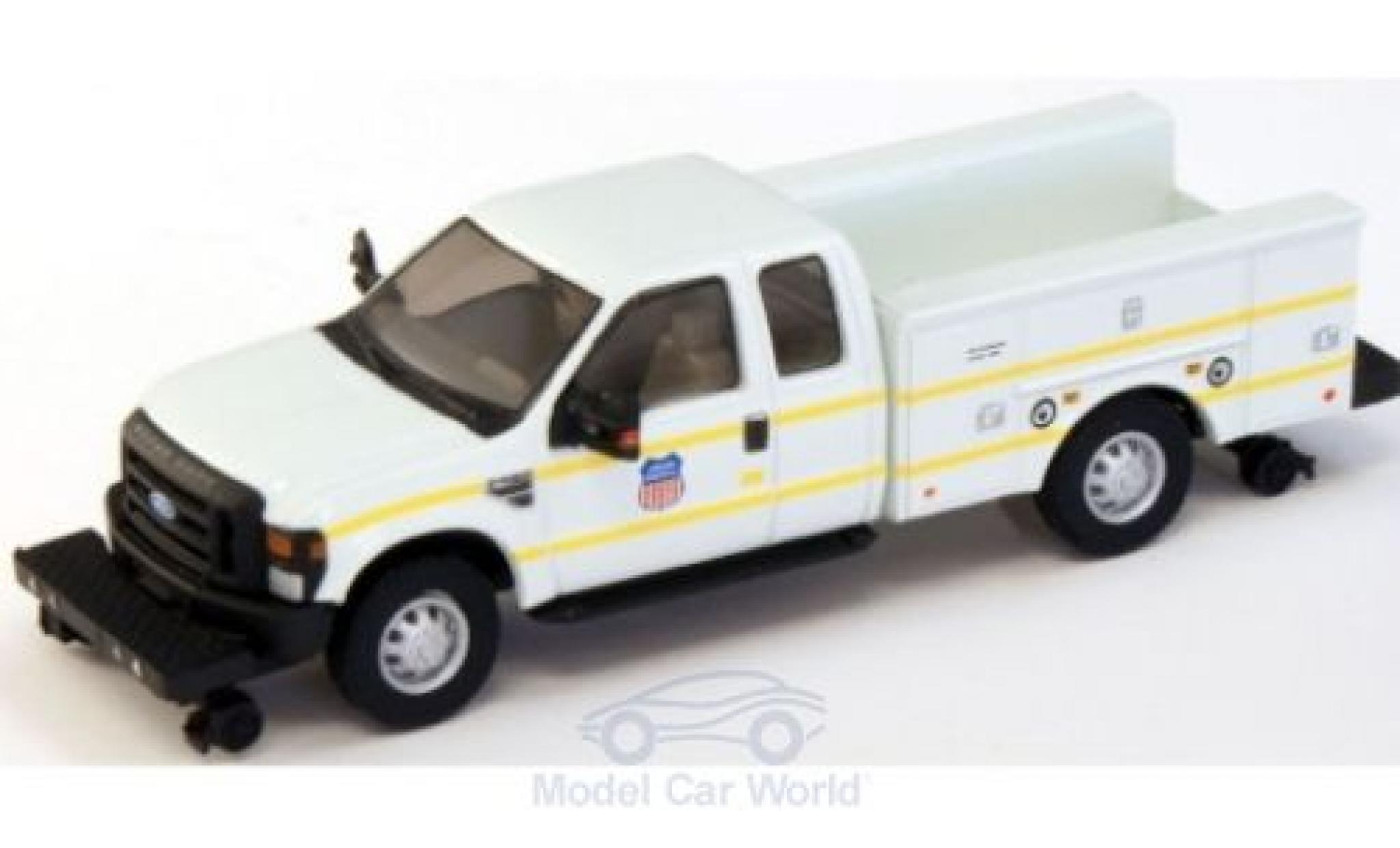 Ford F-350 1/87 River Point XLT Super Cab Utility Hi-Rail Truck Union Pacific 2008