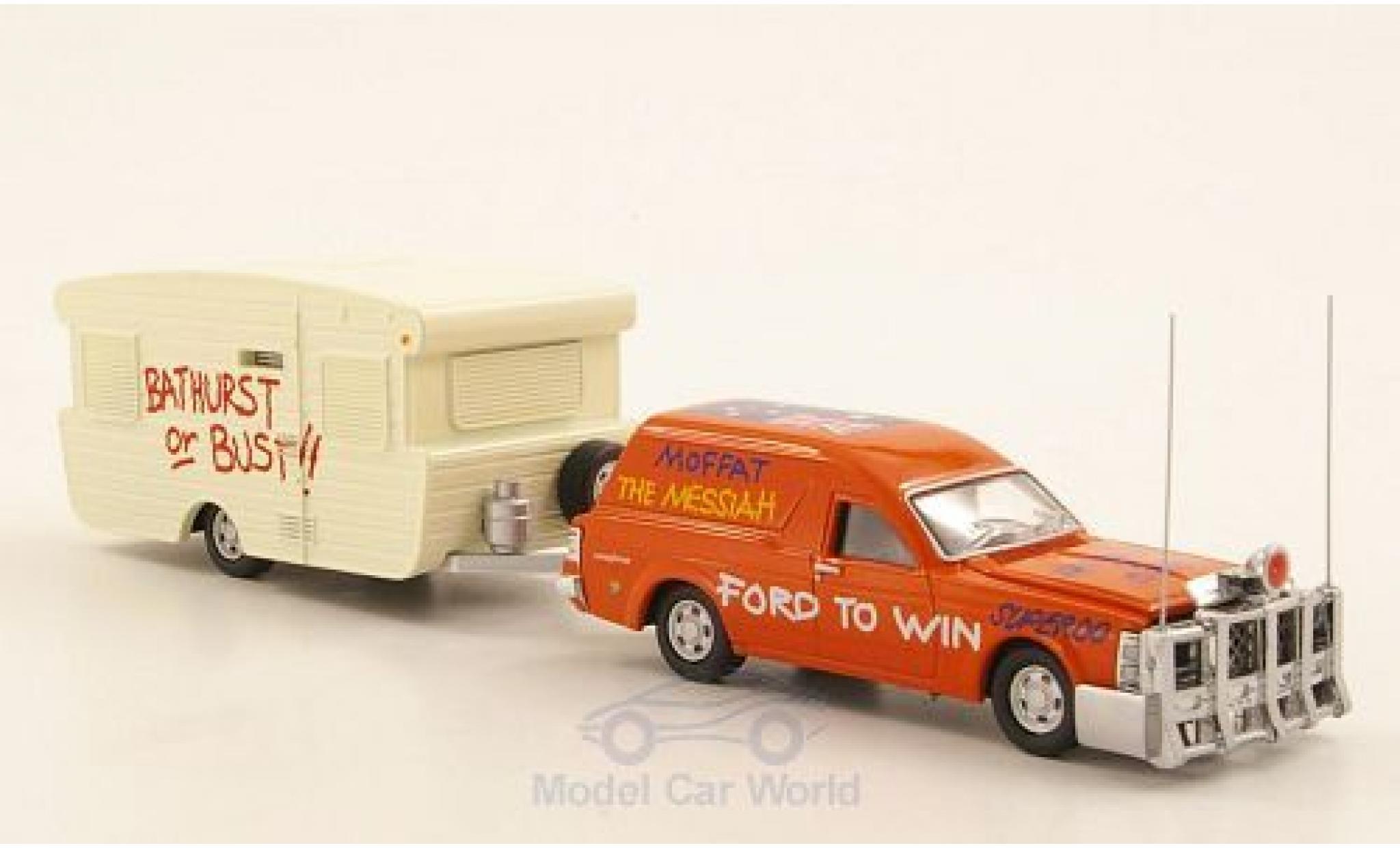 Ford Falcon 1/64 Road Ragers XW Panel Van orange RHD 1969 mit Viscount Alumvan