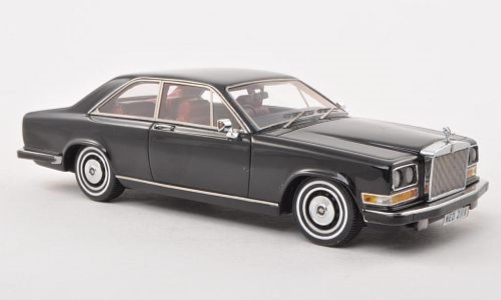 Rolls Royce Camargue 1/43 Neo noire RHD 1975 miniature