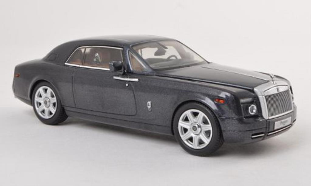 Rolls Royce Phantom 1/43 Kyosho Coupe grise LHD