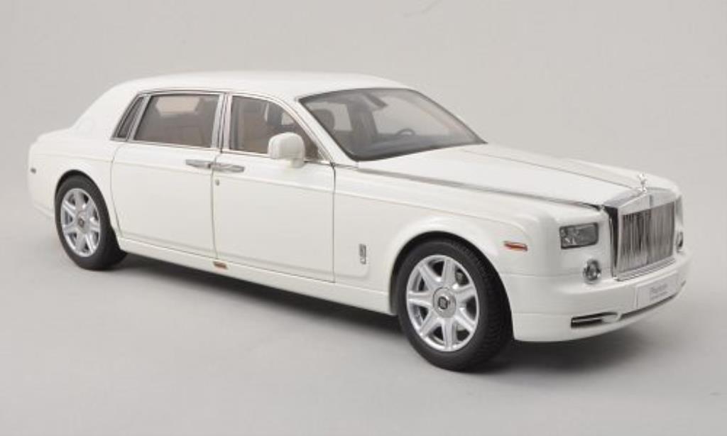 Rolls Royce Phantom 1/18 Kyosho EWB blanche LHD miniature
