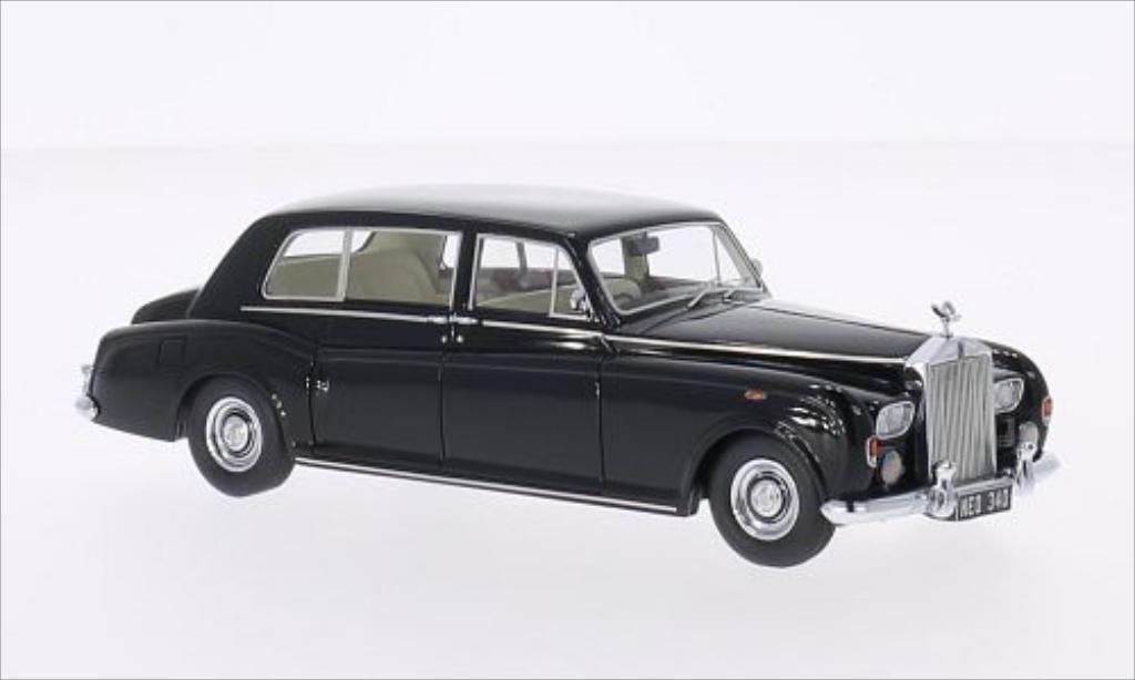 Rolls Royce Phantom 1/43 Neo VI EWB noire RHD 1968 miniature
