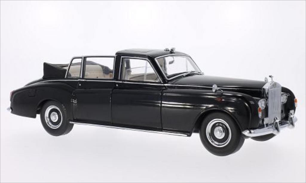 Rolls Royce Phantom 1/18 CMF VI Landaulet noire RHD miniature