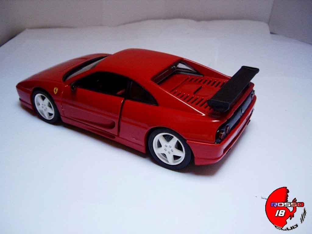 Modèle réduit Ferrari F355 Berlinetta challenge rouge tuning Hot Wheels. Ferrari F355 Berlinetta challenge rouge miniature 1/18