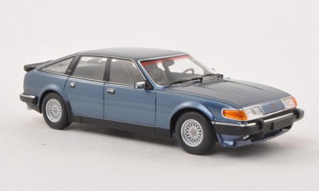 Rover Vitesse 1/43 Minichamps 3.5 V8 bleu LHD 1986 miniature