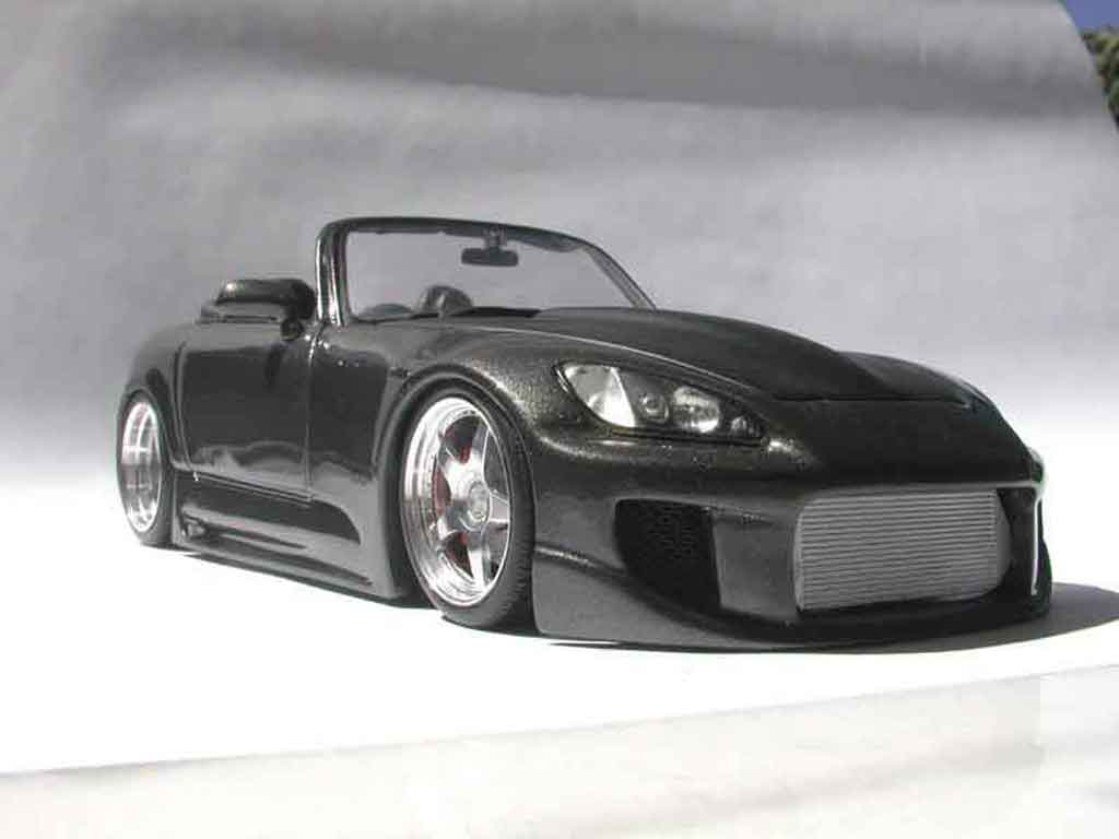 honda s2000 schwarz kit carrosserie maisto modellauto 1 18. Black Bedroom Furniture Sets. Home Design Ideas