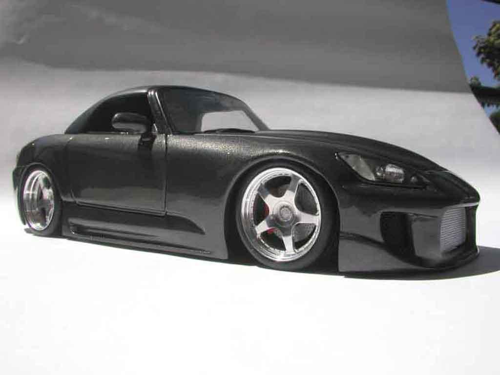 Honda S2000 1/18 Maisto noire kit carrosserie tuning miniature