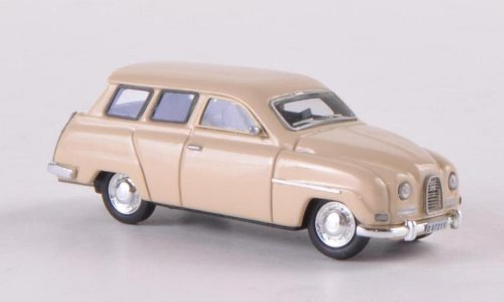 Saab 95 1/87 Neo beige miniature