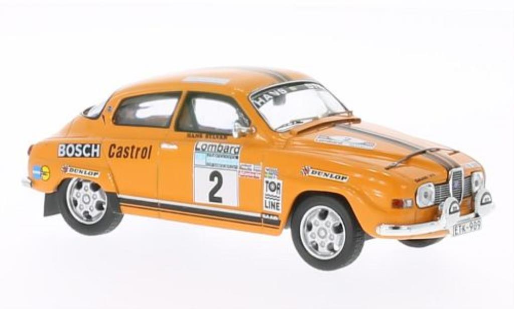 saab 96 v4 no 2 rac rally 1974 h sylvan ixo modellauto 1. Black Bedroom Furniture Sets. Home Design Ideas