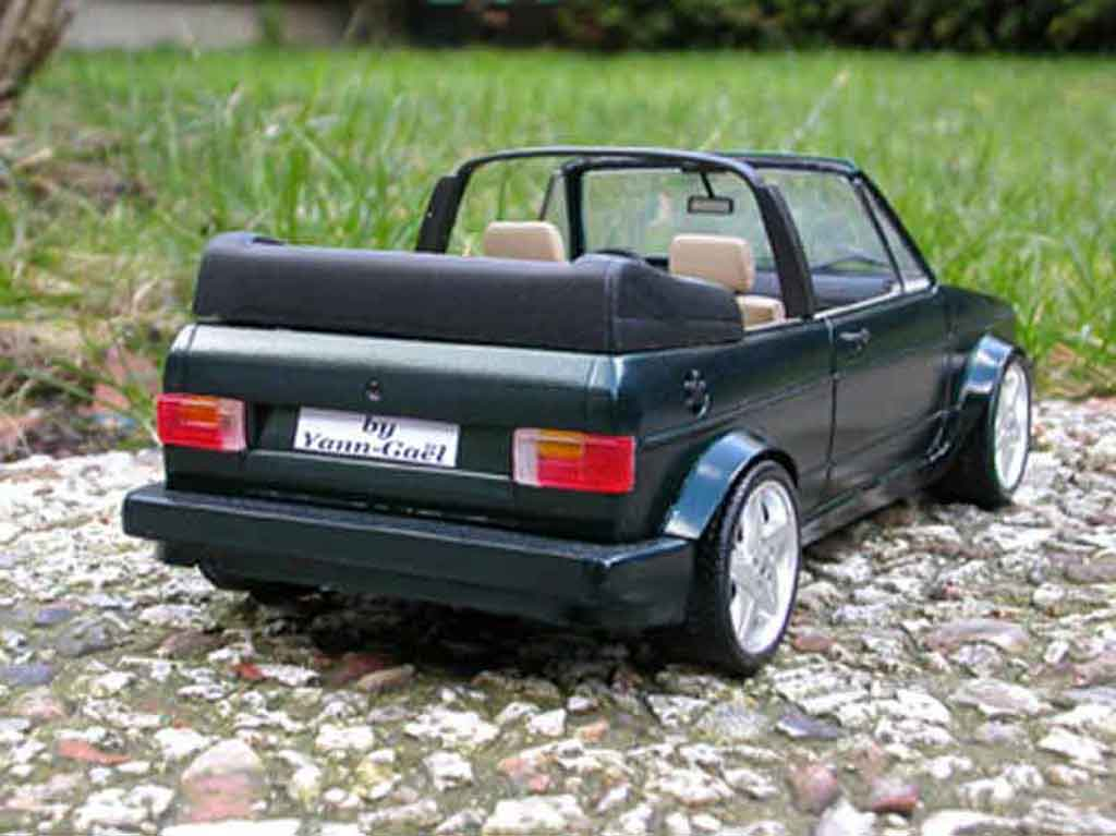 volkswagen golf 1 cabriolet miniature voiture. Black Bedroom Furniture Sets. Home Design Ideas