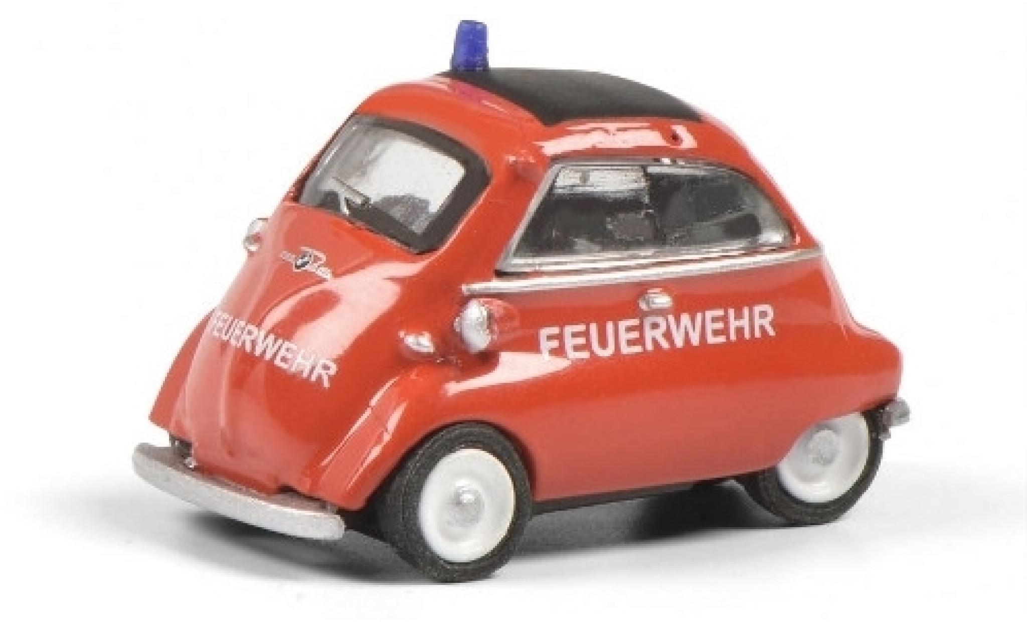 Bmw Isetta 1/87 Schuco Feuerwehr (D)