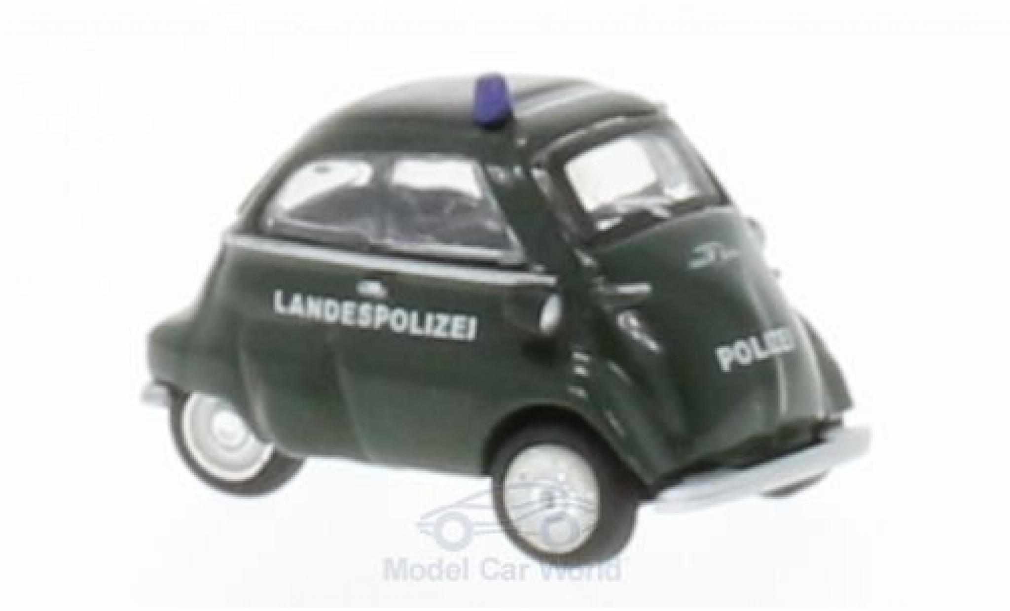 Bmw Isetta 1/87 Schuco Landespolizei